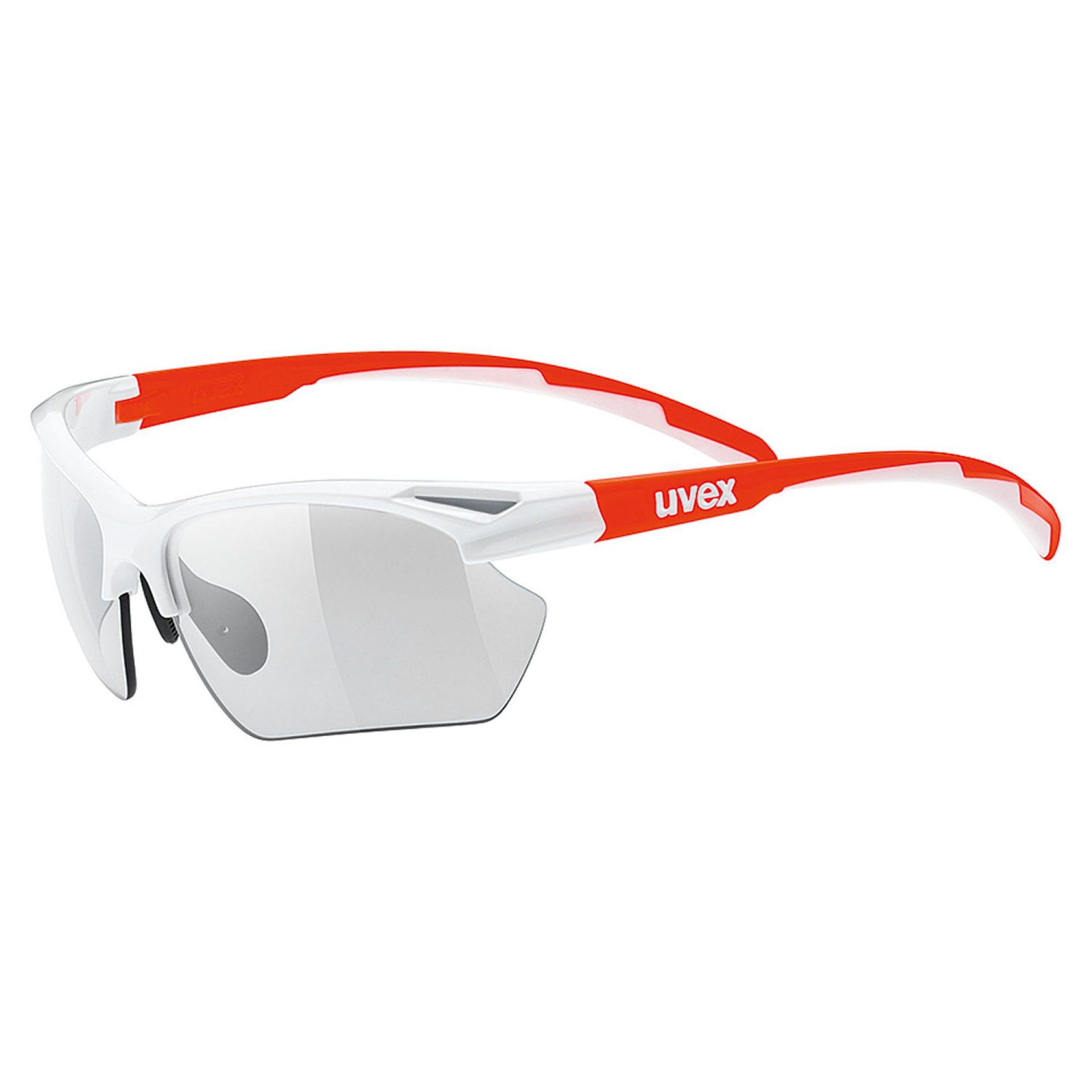 OKULARY UVEX  SPORTSTYLE 802 SMALL V WHITE ORANGE