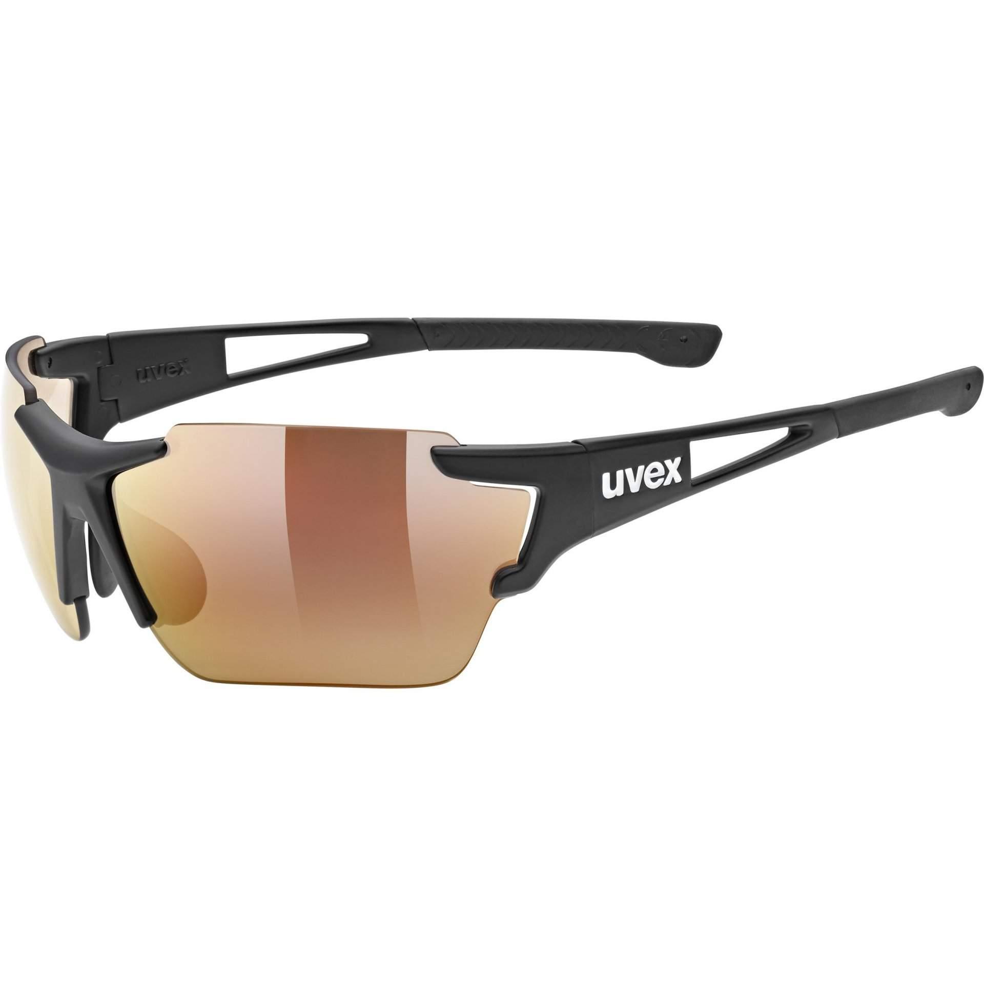 OKULARY UVEX SPORTSTYLE 803 53|3|041|2206 RACE CV V BLACK MAT