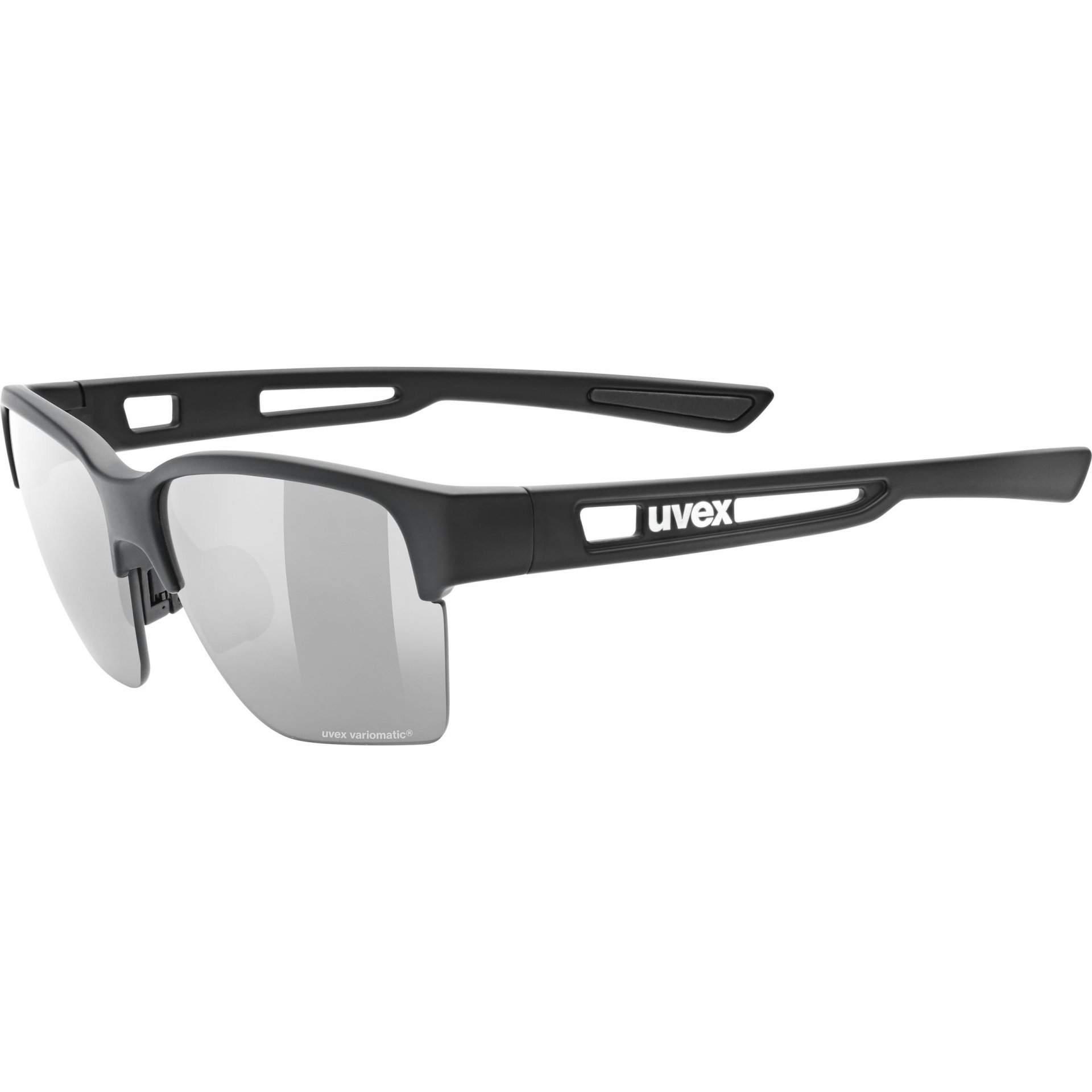 OKULARY UVEX SPORTSTYLE 805 V 53|2|062|2201 BLACK MAT