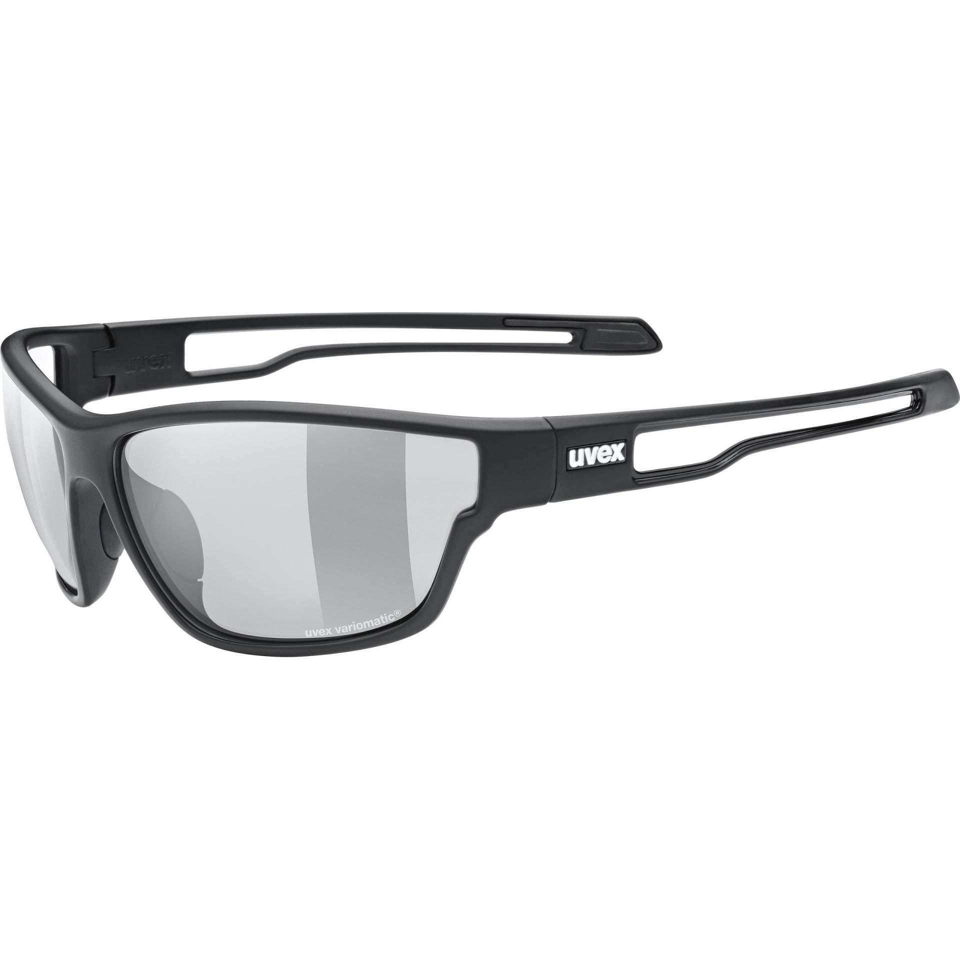 OKULARY UVEX SPORTSTYLE 806 V 53|2|064|2201 BLACK MAT