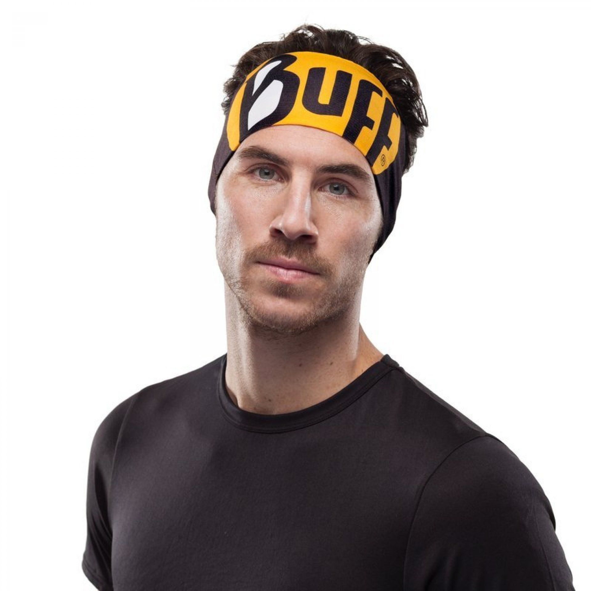 OPASKA BUFF COOLNET UV+ HEADBAND ULTIMATE LOGO BLACK NA MODELU