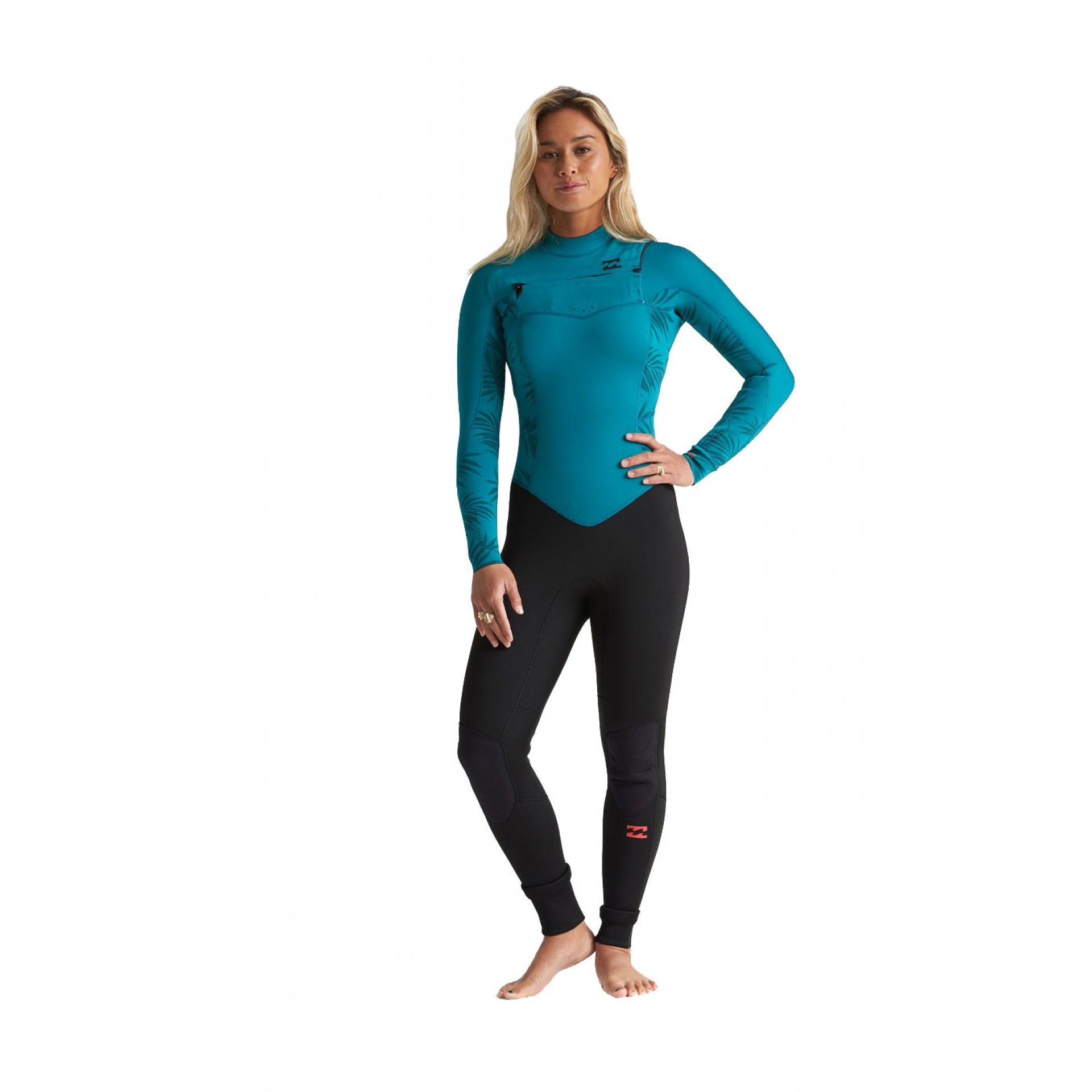 PIANKA NEOPRENOWA BILLABONG 3|2 FURNACE SYNERGY GBS CHEST ZIP BLACK S43G52BIP0 4576 MERMAID