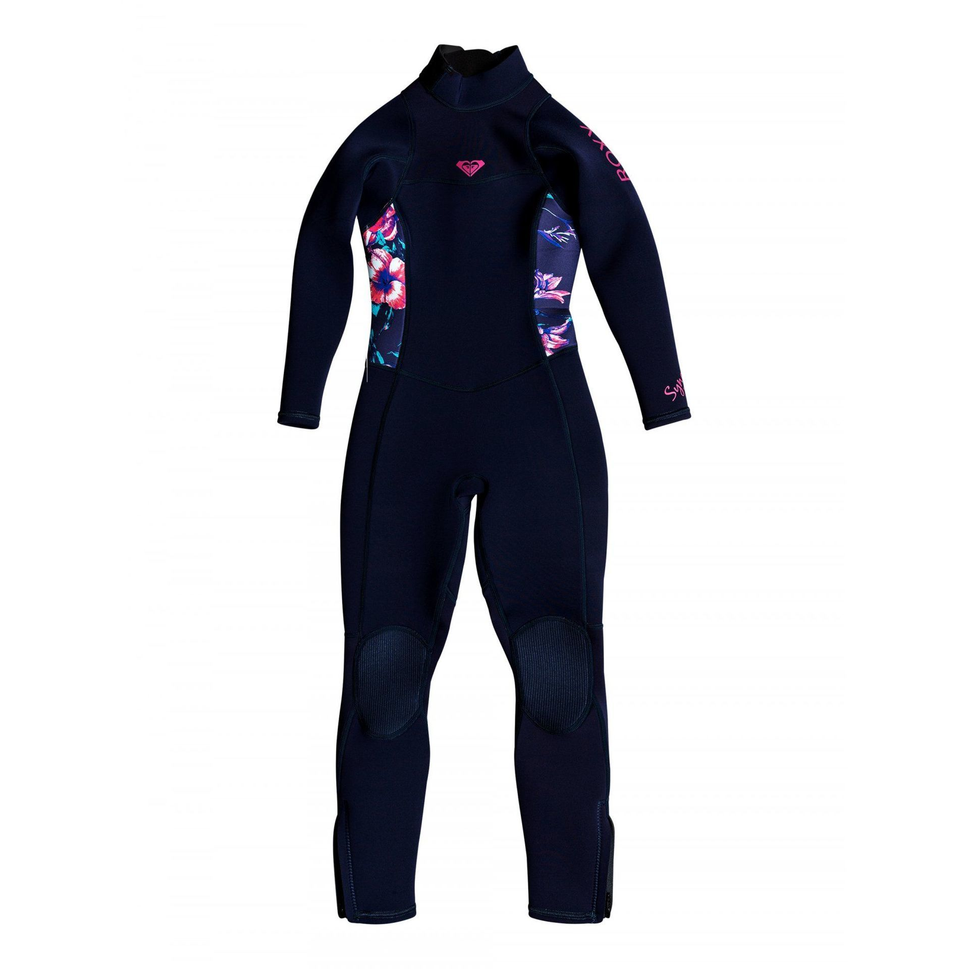 PIANKA NEOPRENOWA ROXY GIRLS 2-6 SYNCRO 3|2MM BACK ZIP BSN0