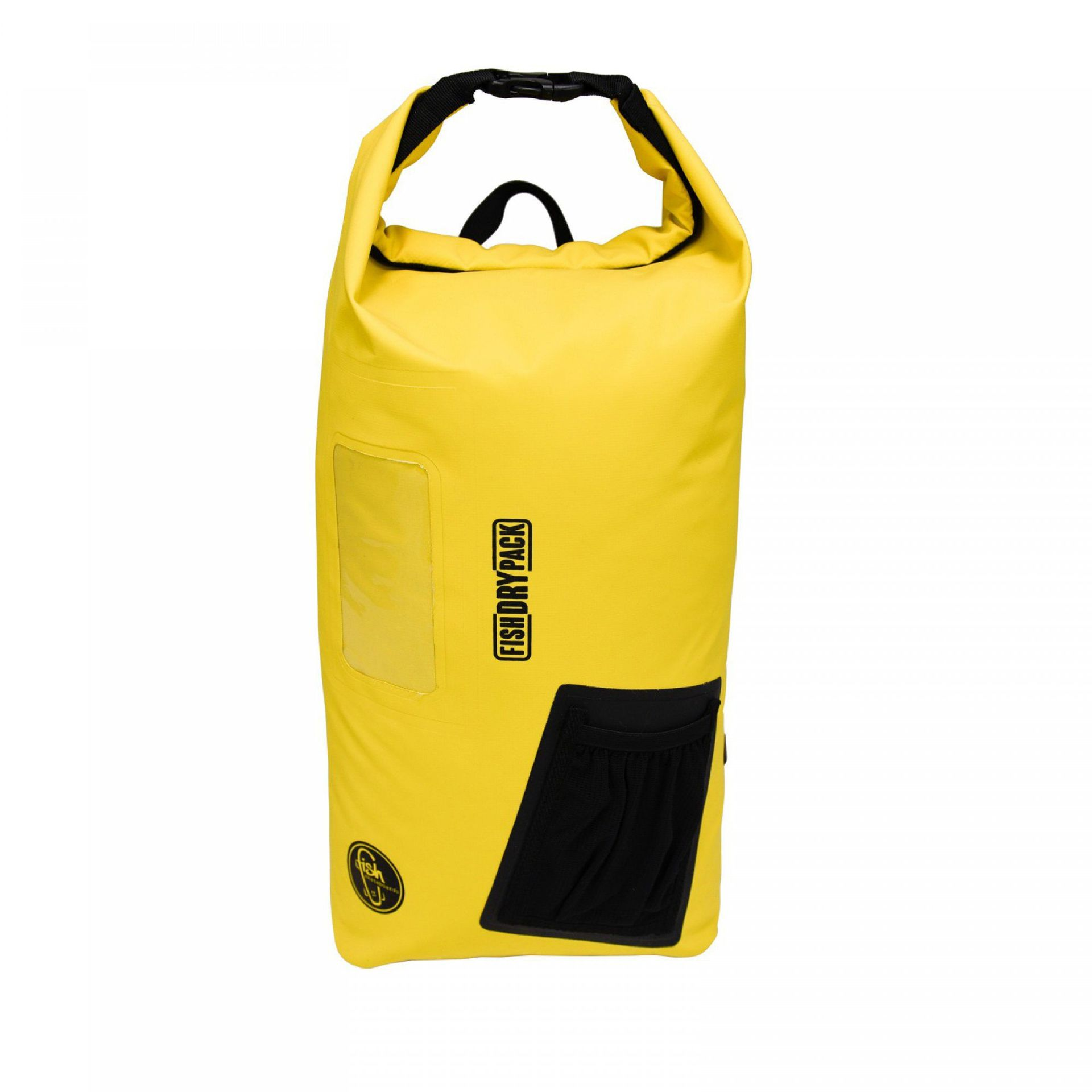 PLECAK FISH SKATEBOARDS FISH DRY PACK 18L YELLOW 1