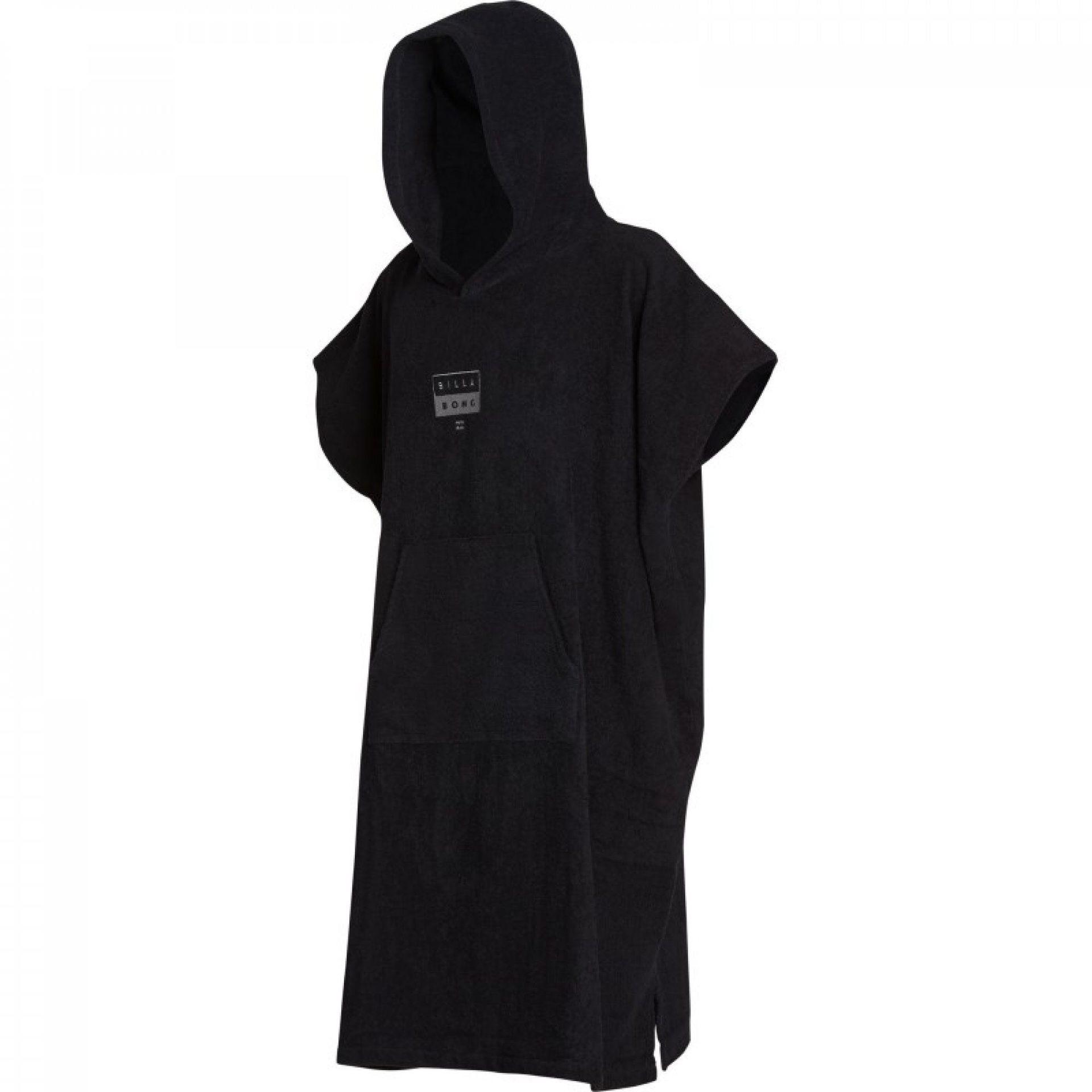 PONCHO BILLABONG HOODIE TOWEL BLACK