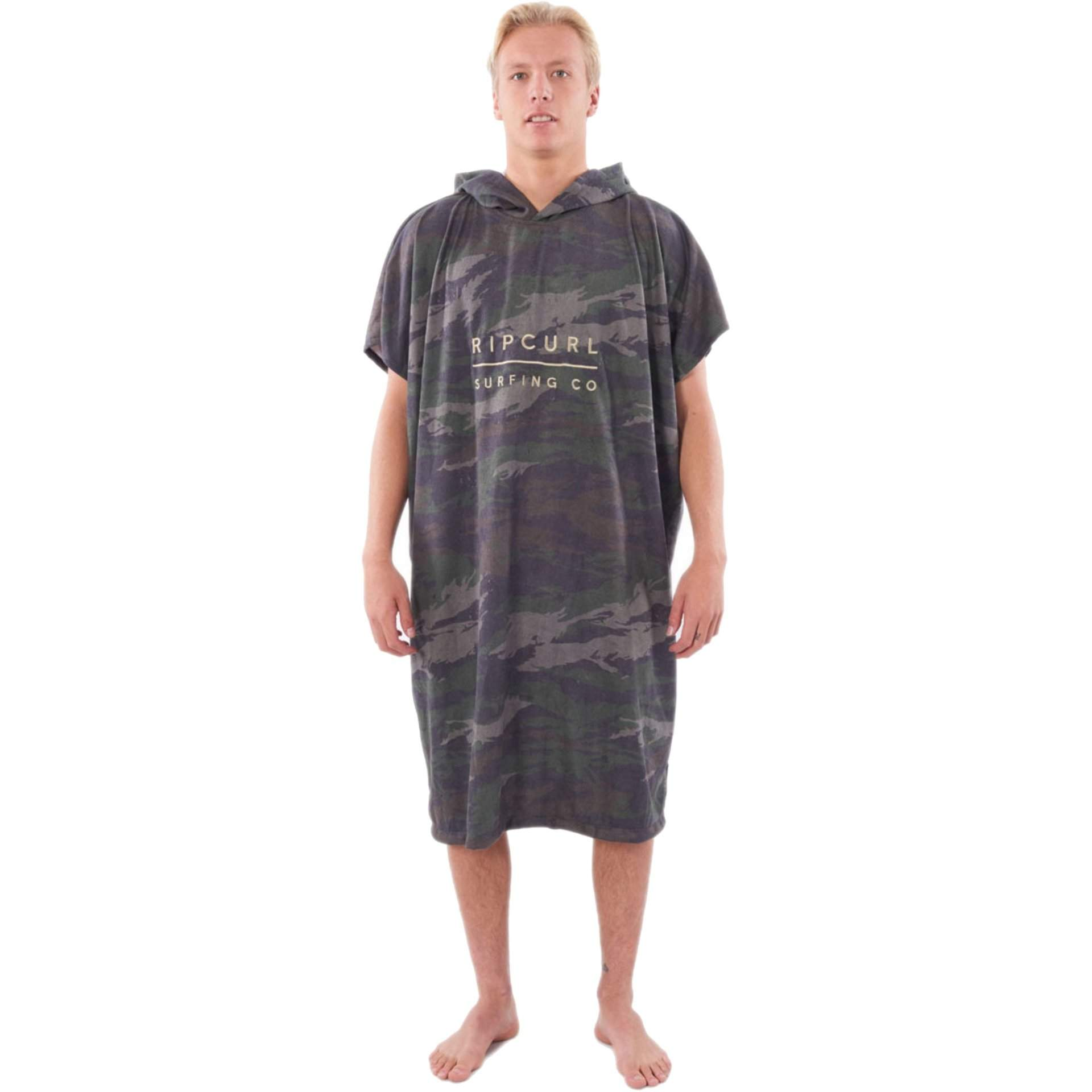 PONCHO RĘCZNIK RIP CURL MIX UP HOODED TOWEL CTWAH9 60 GREEN
