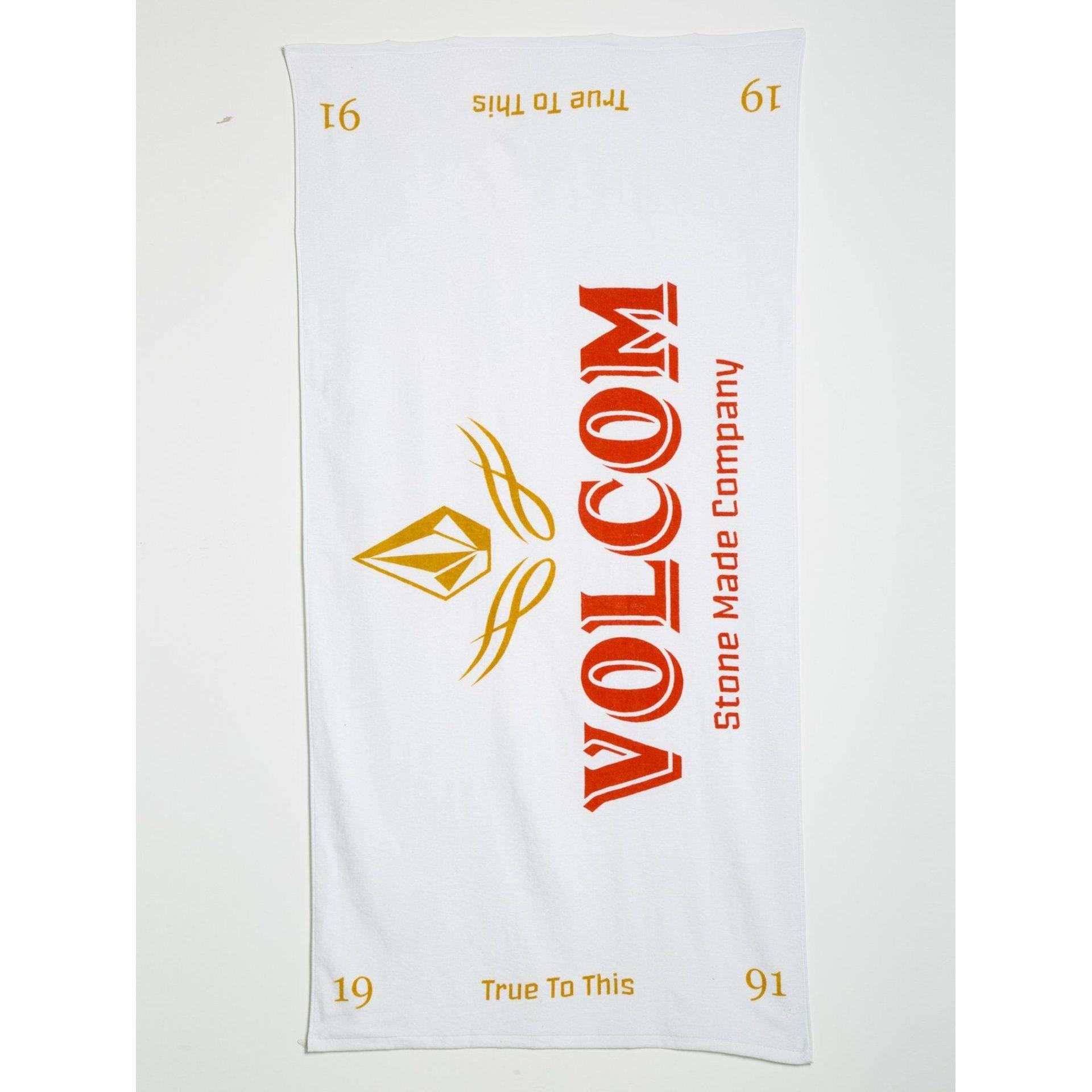 RĘCZNIK VOLCOM VOLCOM TOWEL D6711955-WHITE