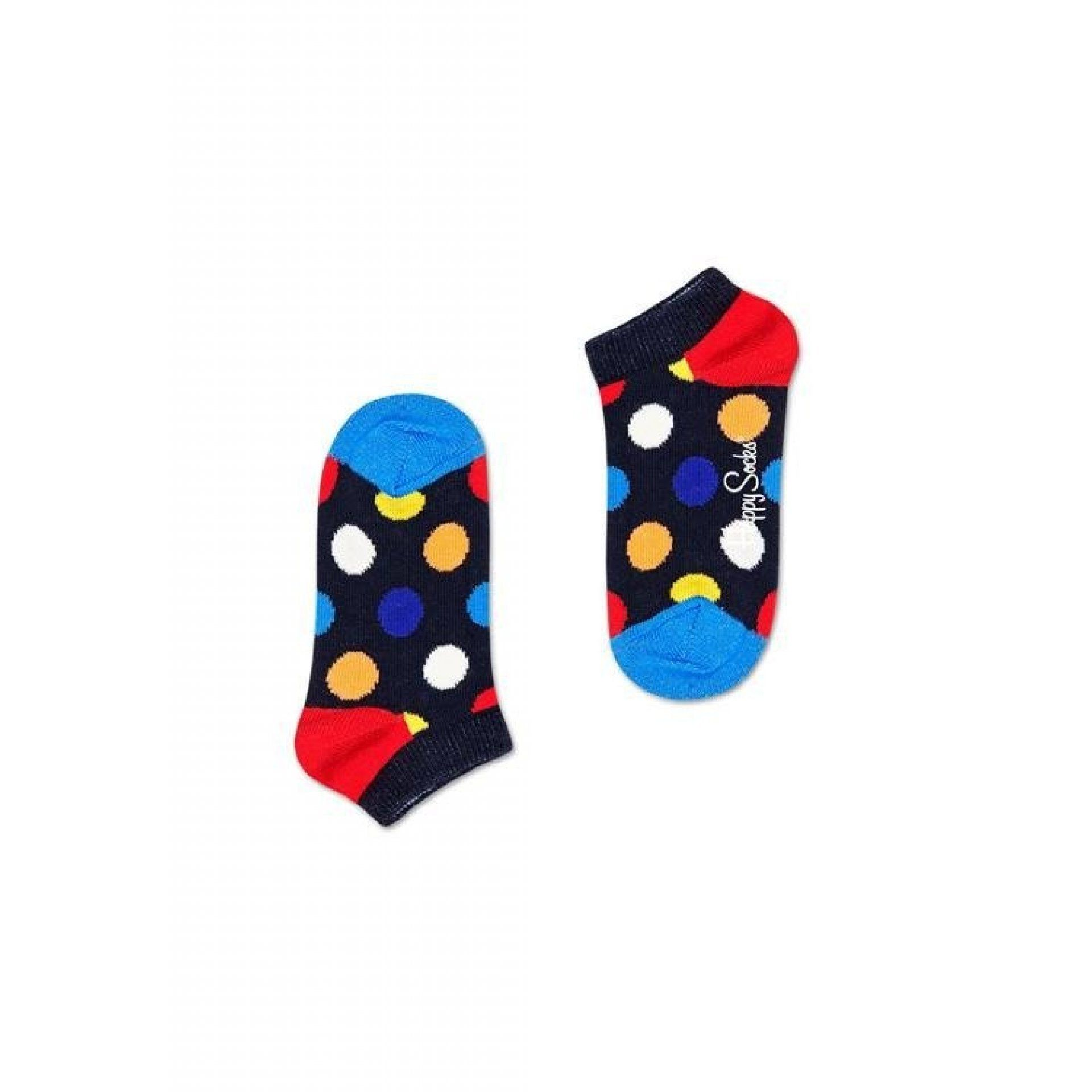 SKARPETKI HAPPY SOCKS BIG DOT KIDS  LOW KBDO05-6500