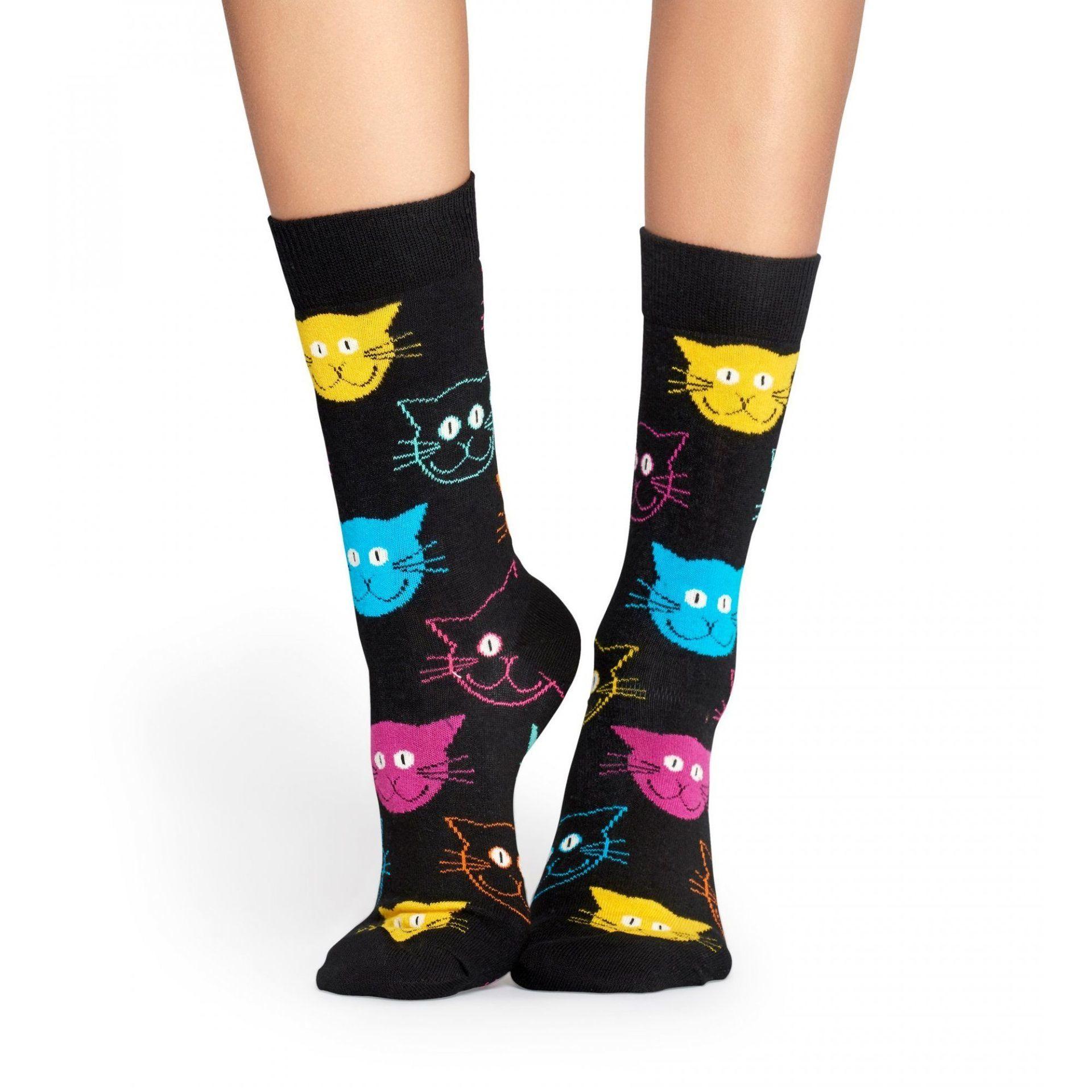 SKARPETKI HAPPY SOCKS CAT SOCK MJA01-9001 2
