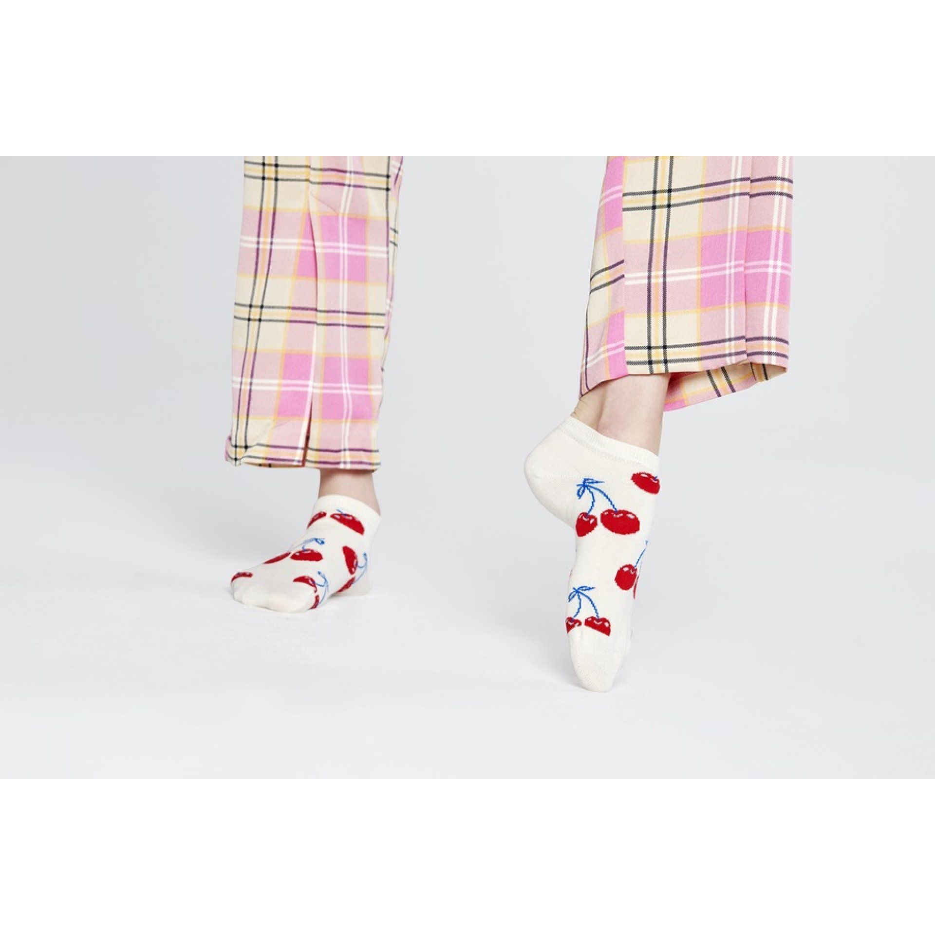 SKARPETKI HAPPY SOCKS CHERRY LOW CHE05-1300 GRAFIKA