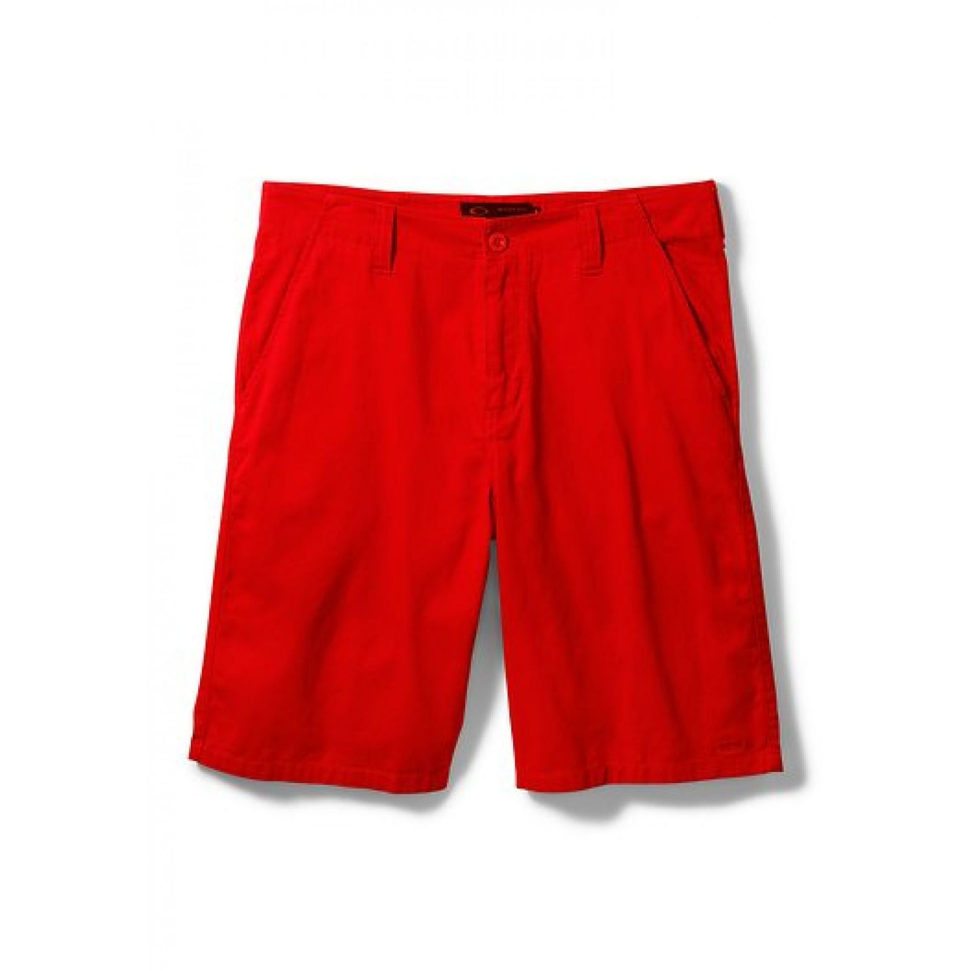 Spodenki Oakley  Represent Shorts red Line
