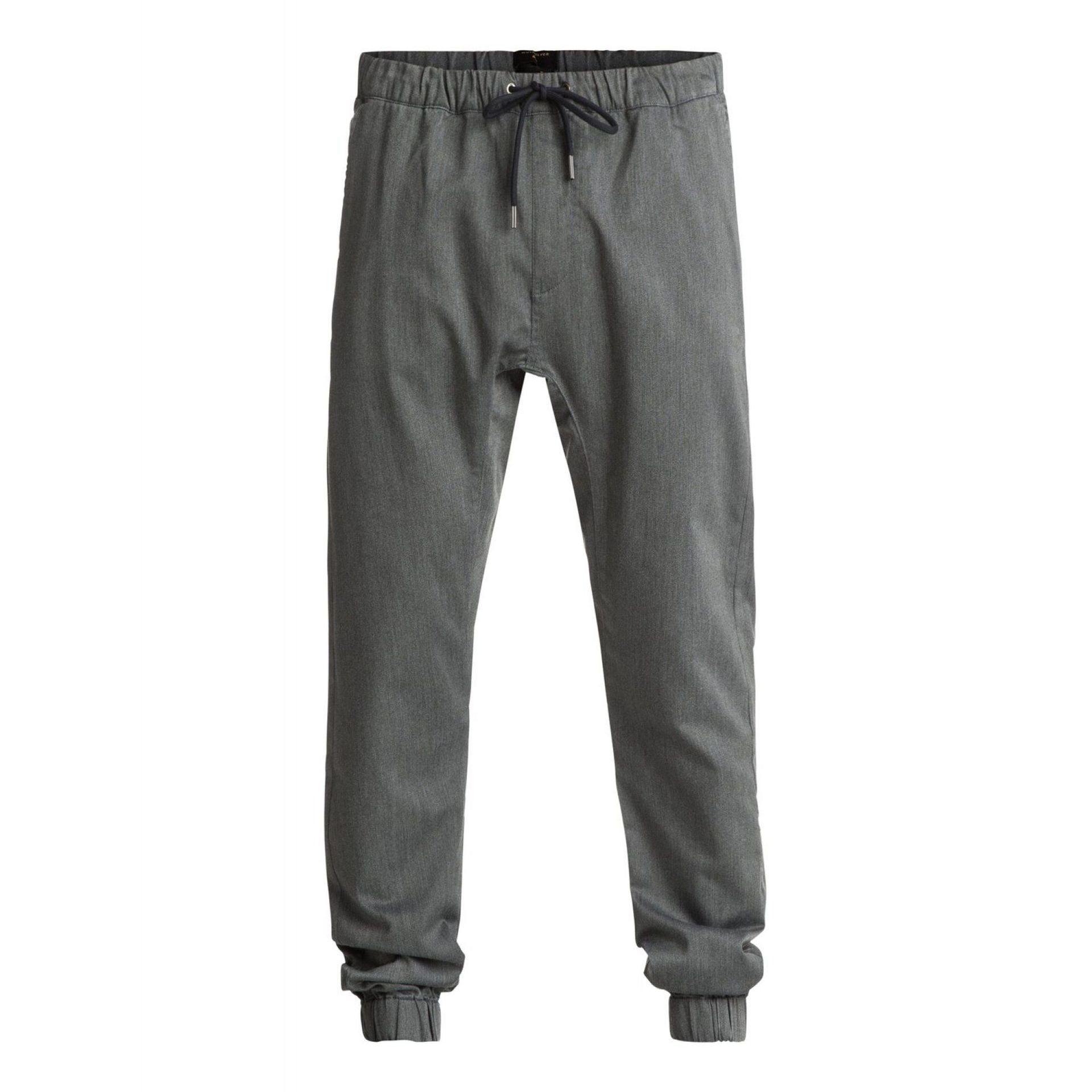 SPODNIE QUIKSILVER FONIC  DARK GREY HEATHER