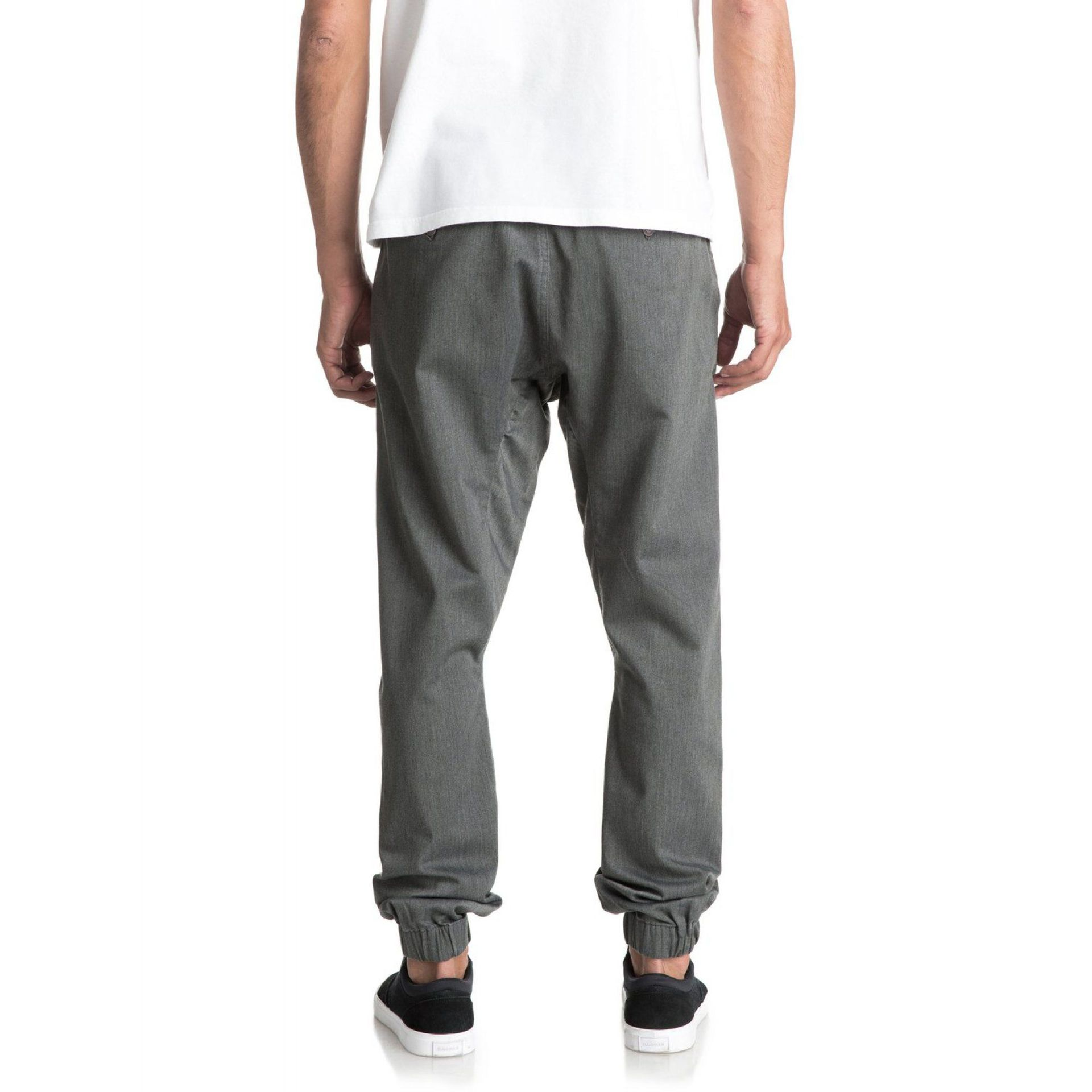SPODNIE QUIKSILVER FONIC  DARK GREY HEATHER 2