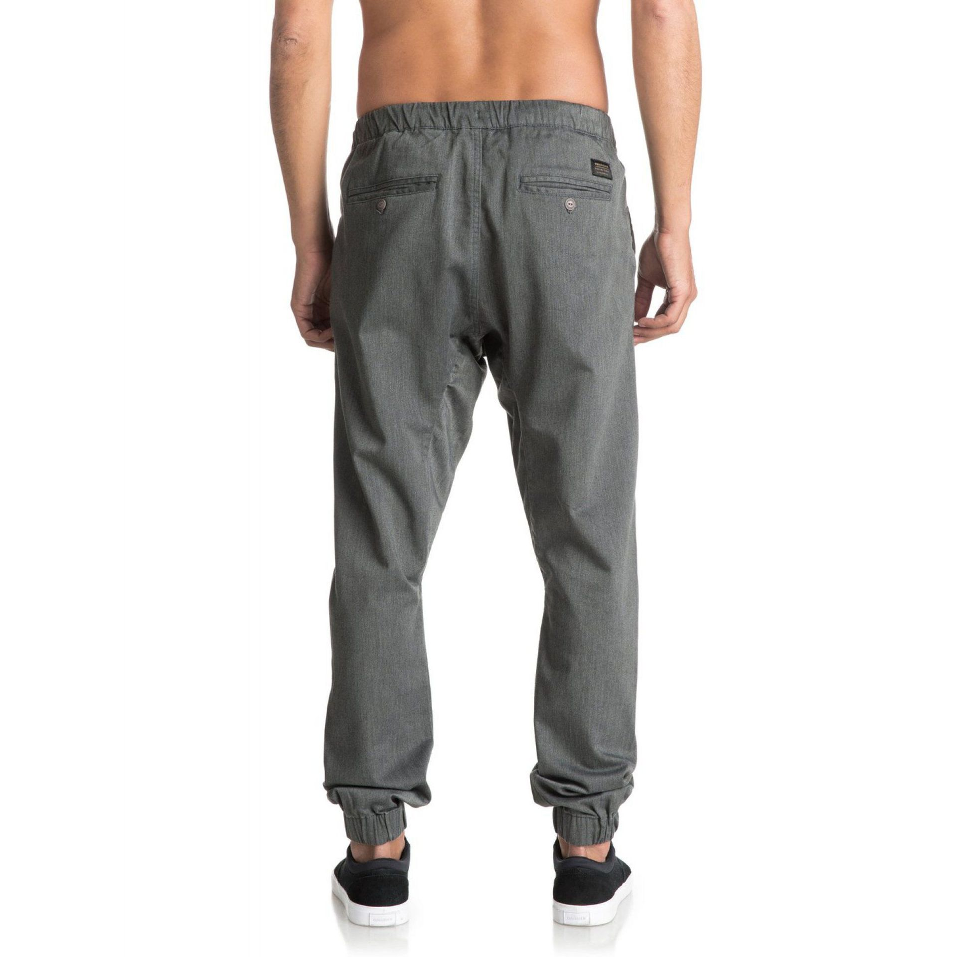 SPODNIE QUIKSILVER FONIC  DARK GREY HEATHER 4