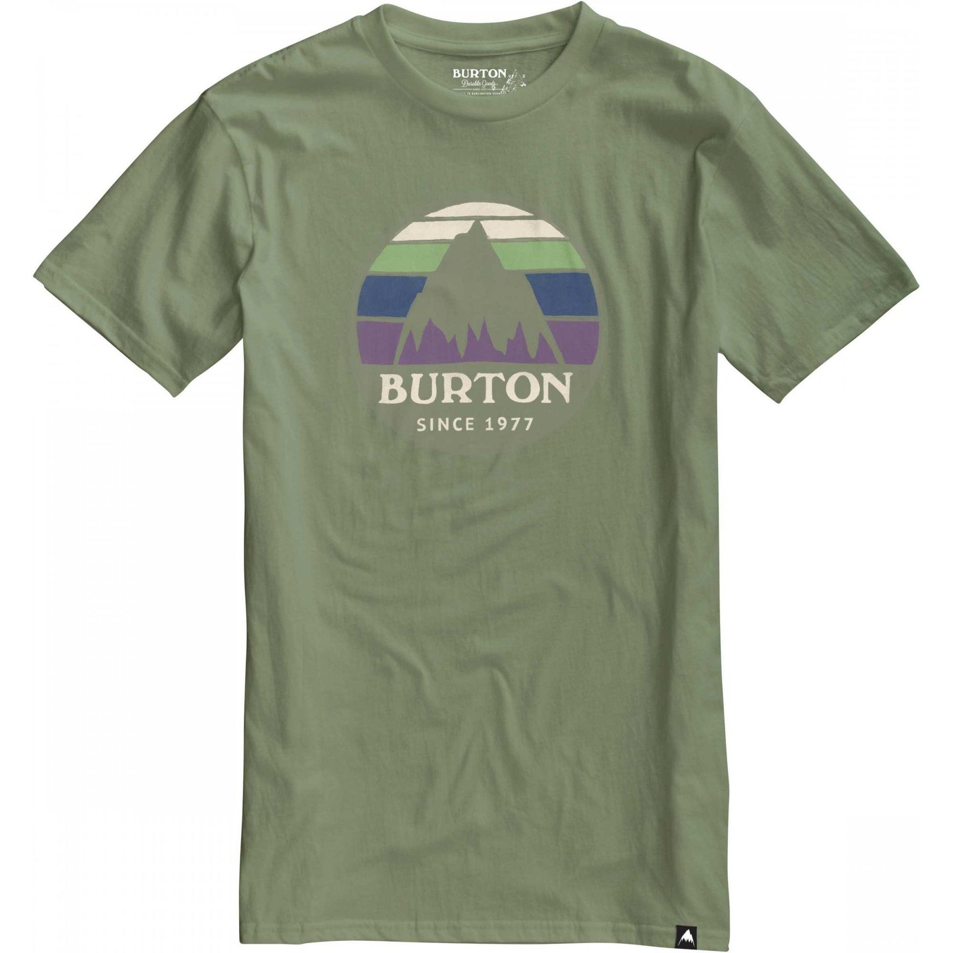 T-SHIRT BURTON UNDERHILL OIL GREEN
