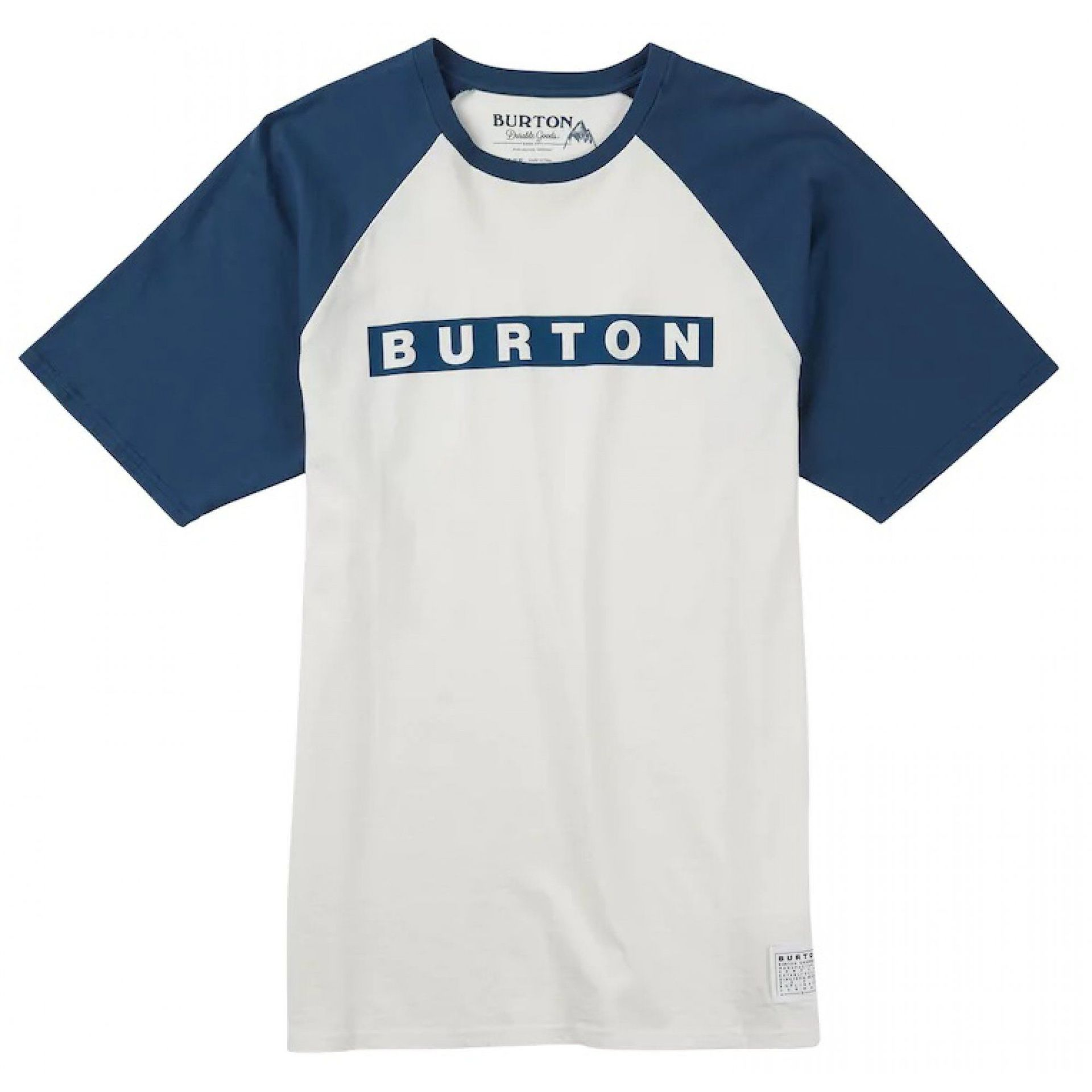 T-SHIRT BURTON VAULT STOUT WHITE