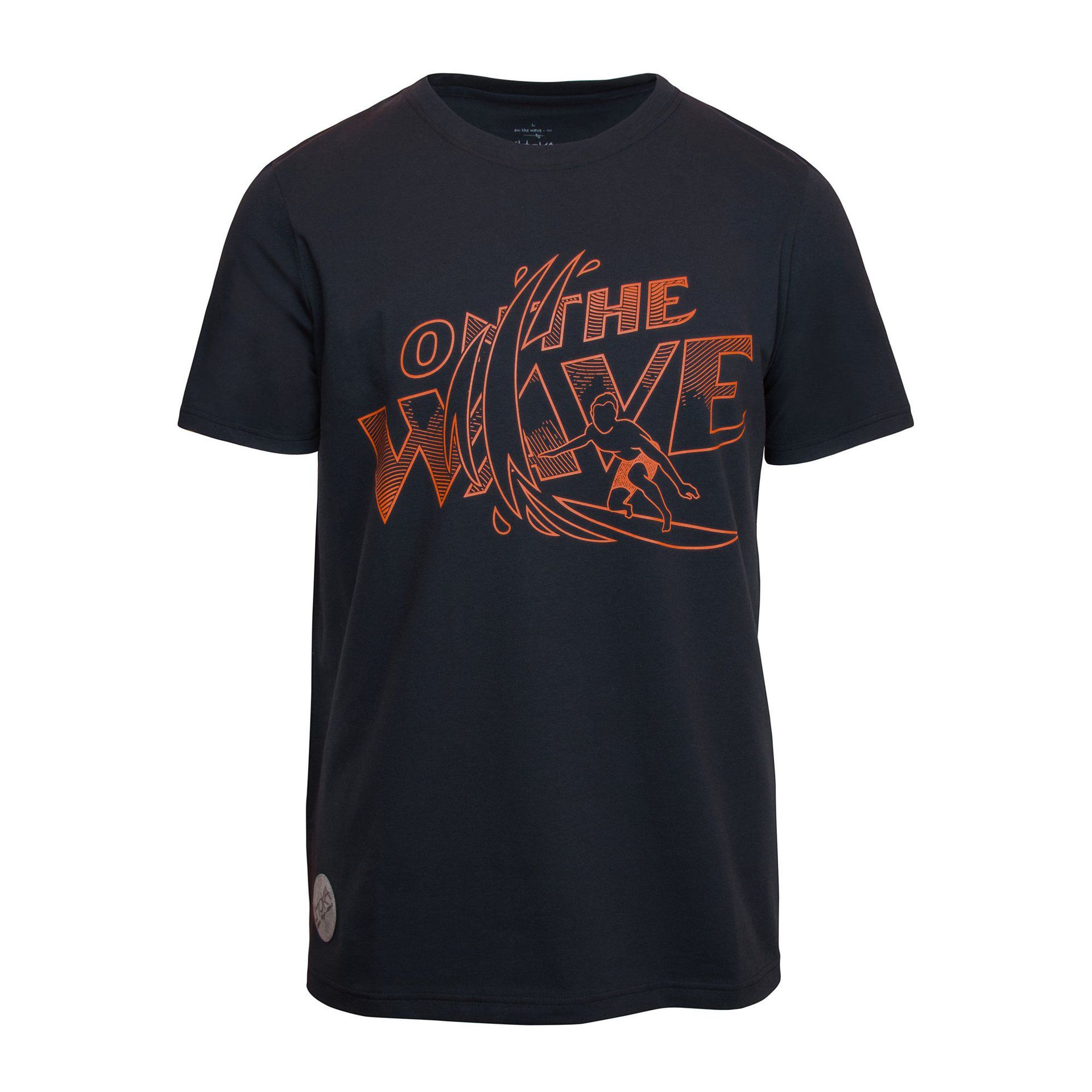 T-SHIRT CHOKA ON THE WAVE-GRAPHITE