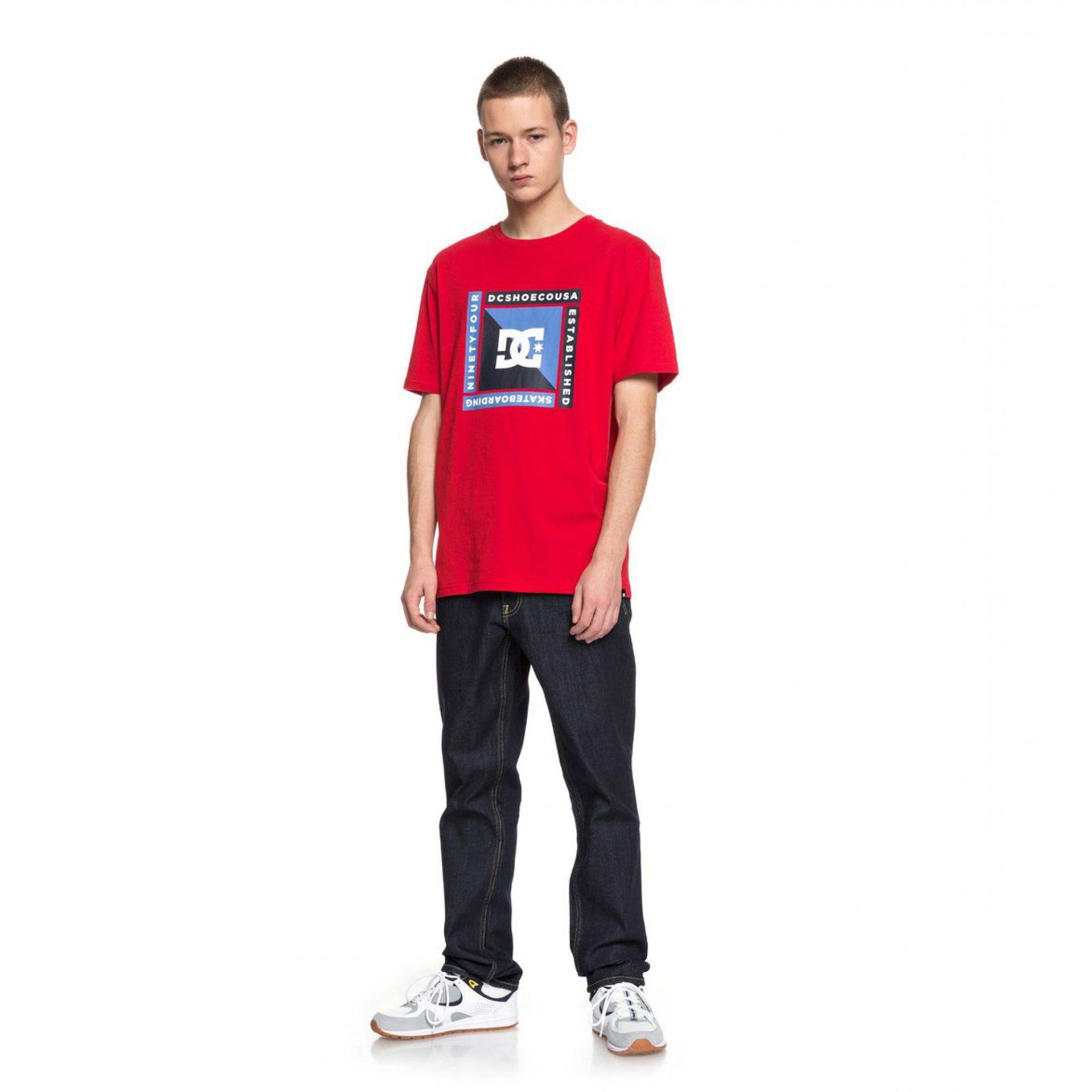 T-SHIRT DC ARKANA TANGO RED 1