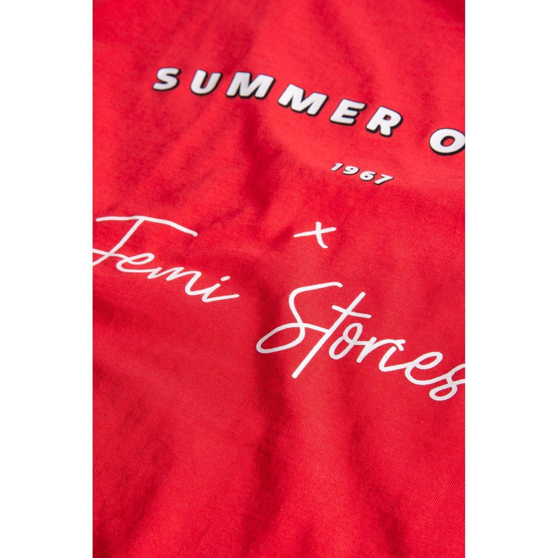 T-SHIRT FEMI STORIES HUMU RED 4