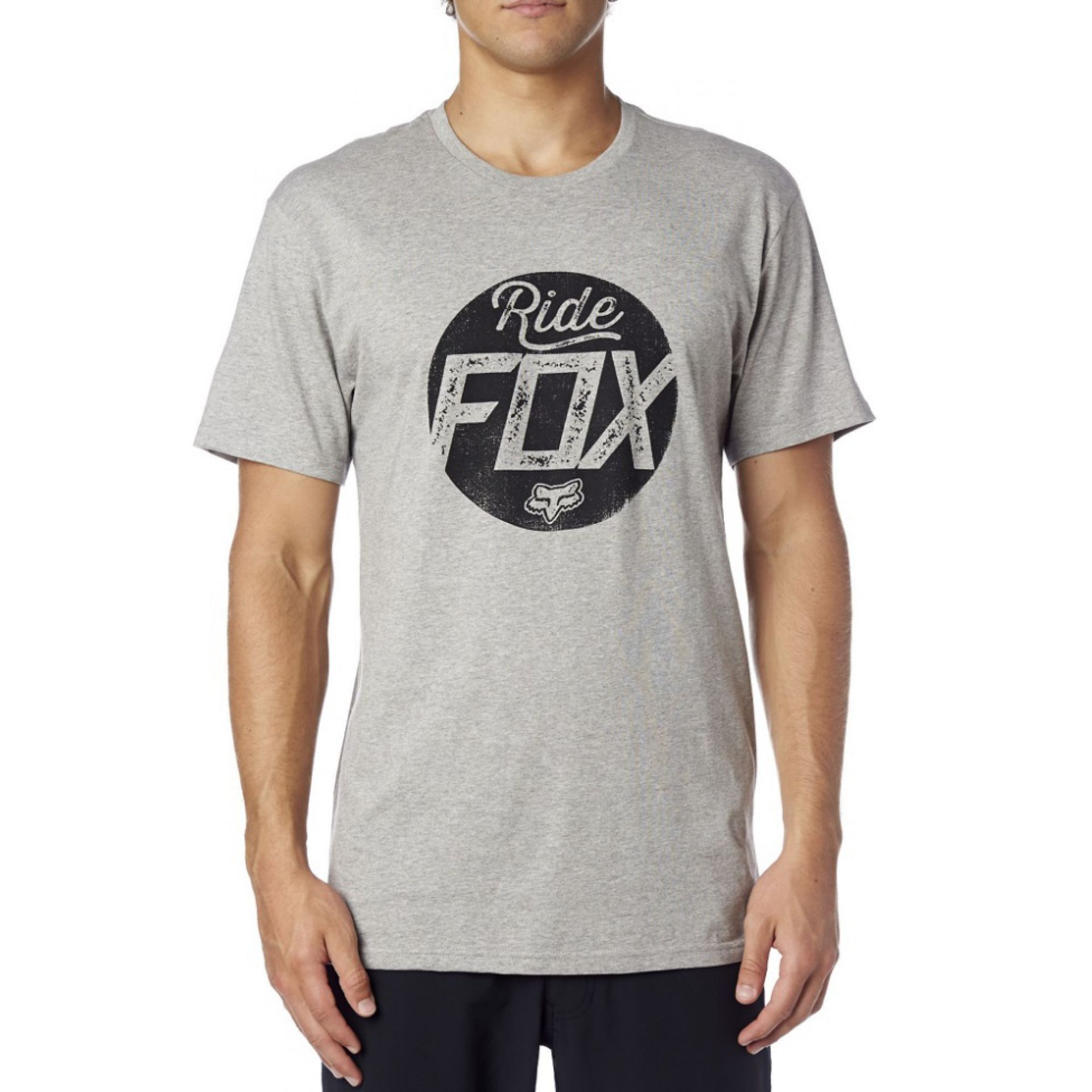 T-SHIRT FOXHEAD TRANSPARENT  HEATHER GREY