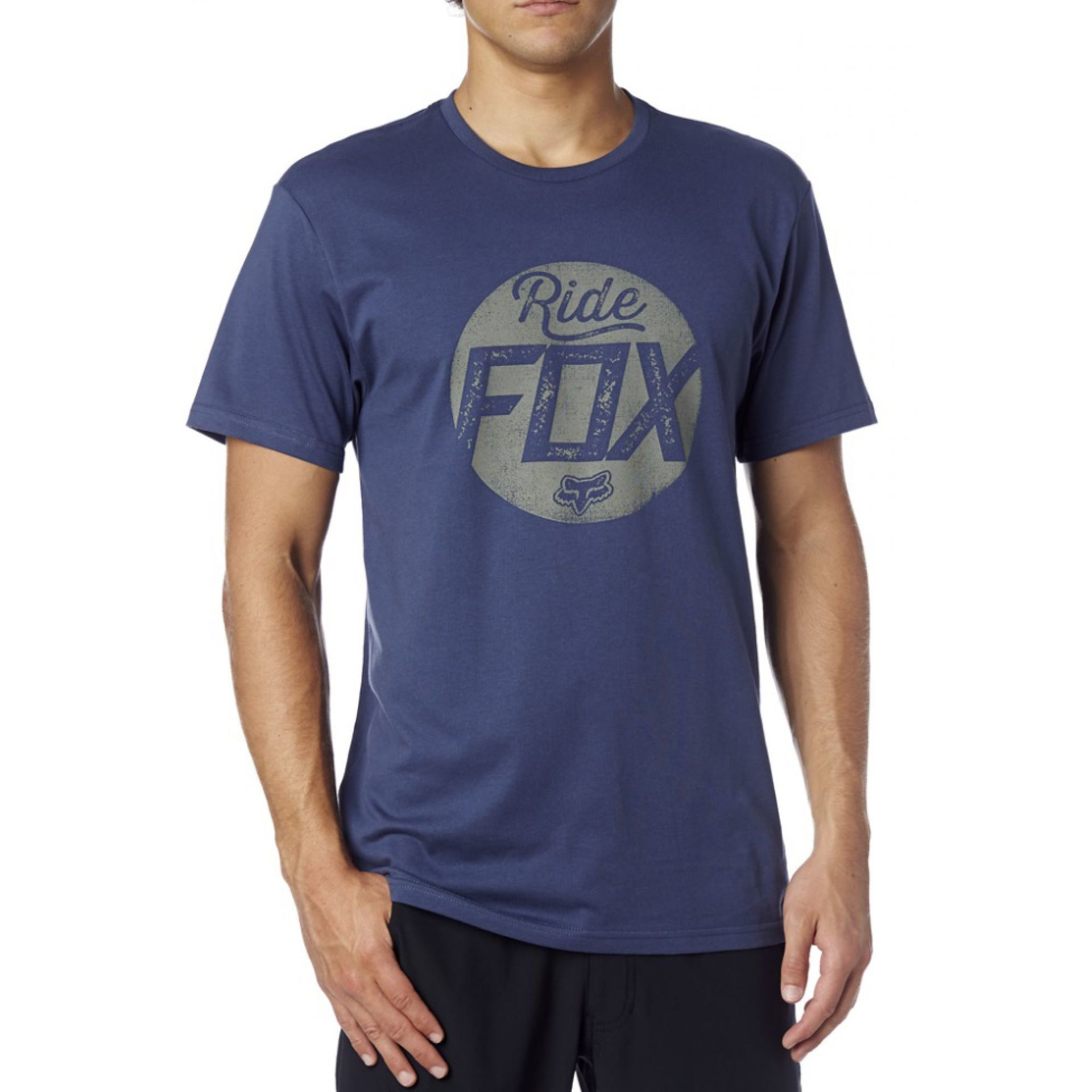 T-SHIRT FOXHEAD TRANSPARENT INDIGO