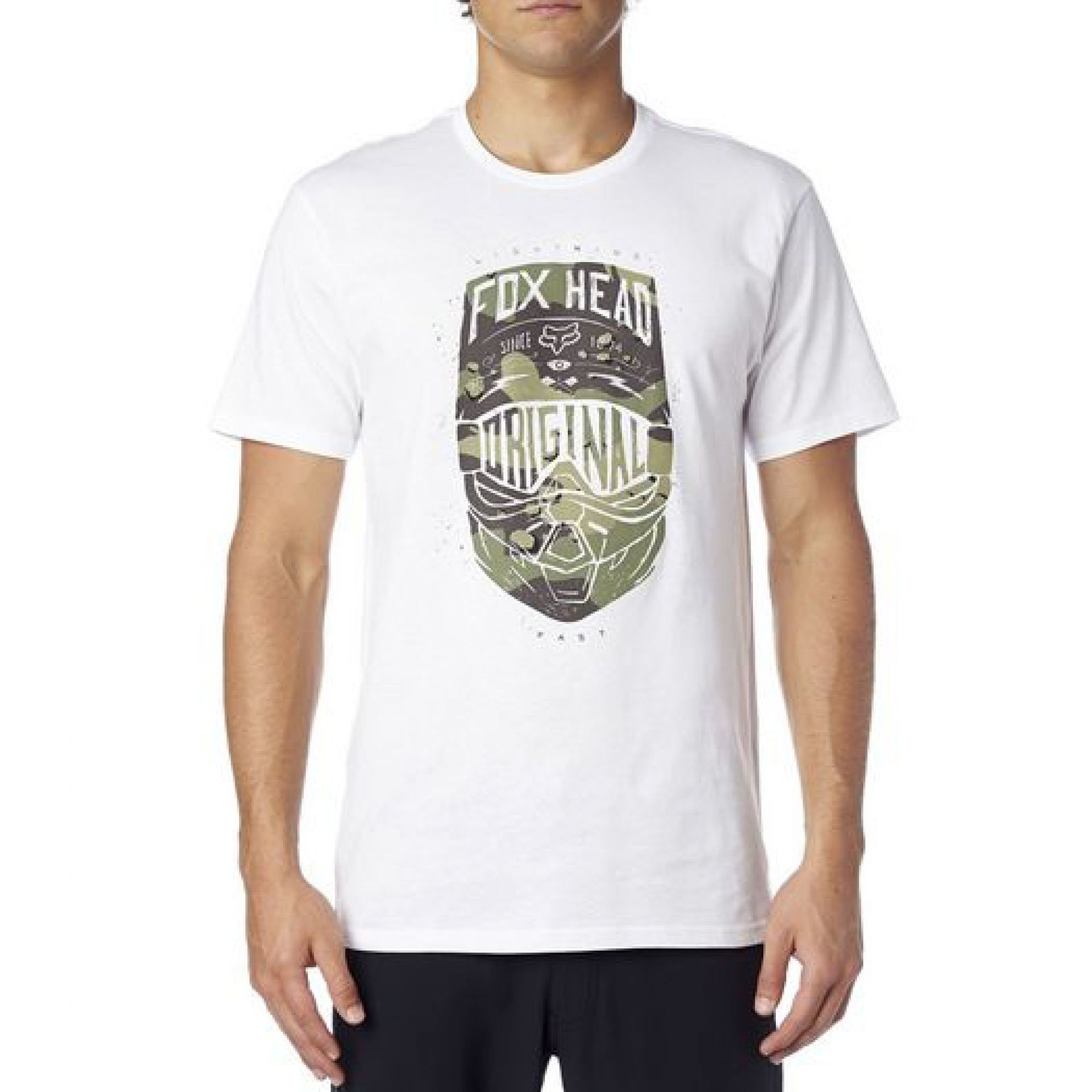 T-SHIRT FOXHEAD TRANSPARENT OPTIC WHITE