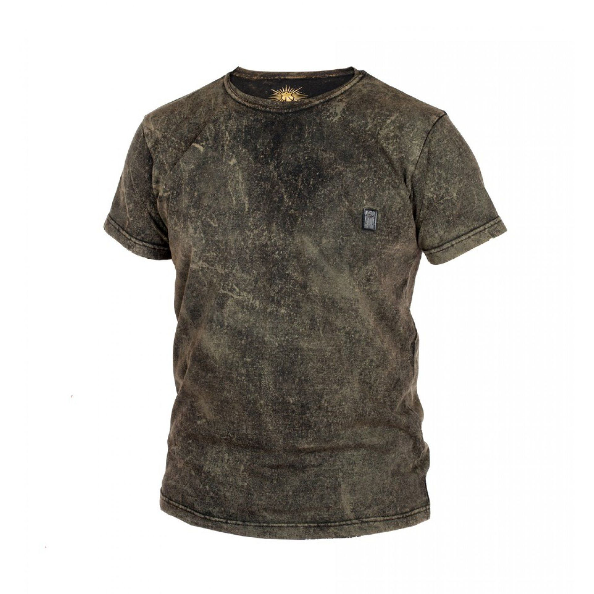 T-SHIRT MAJESTY CAFE RACER BLACK|STAIN