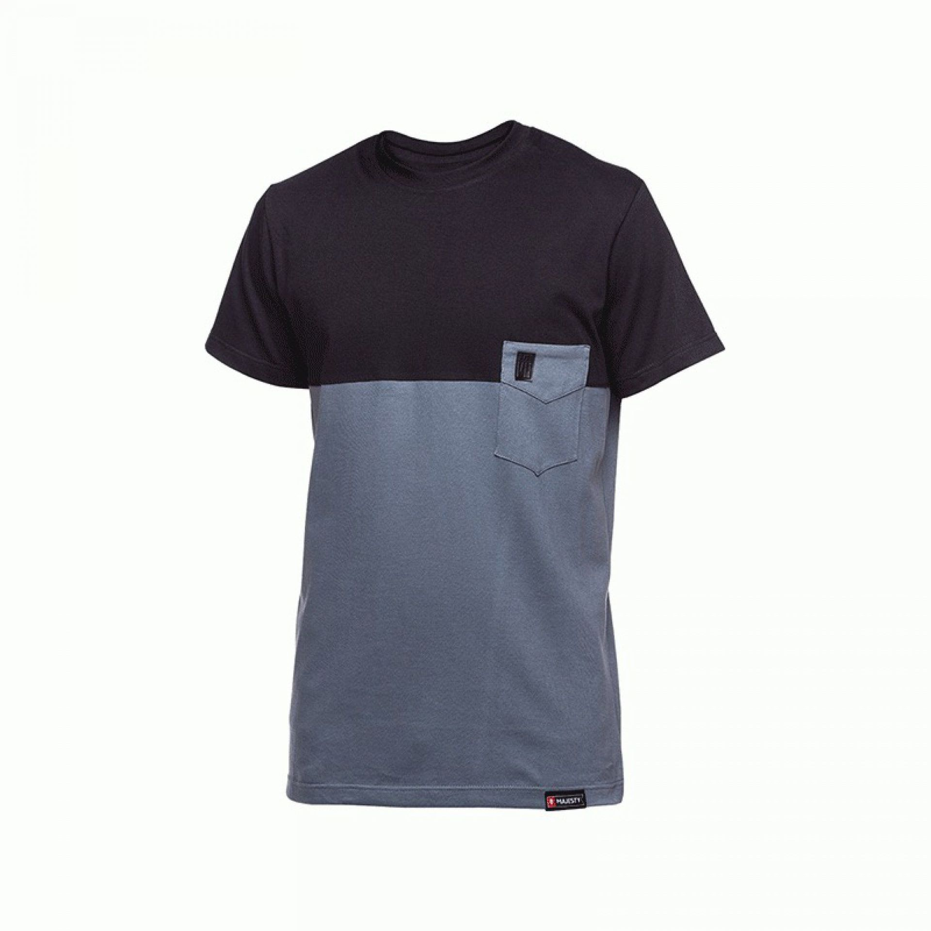T-SHIRT MAJESTY DOPPLER BLACK|GREY