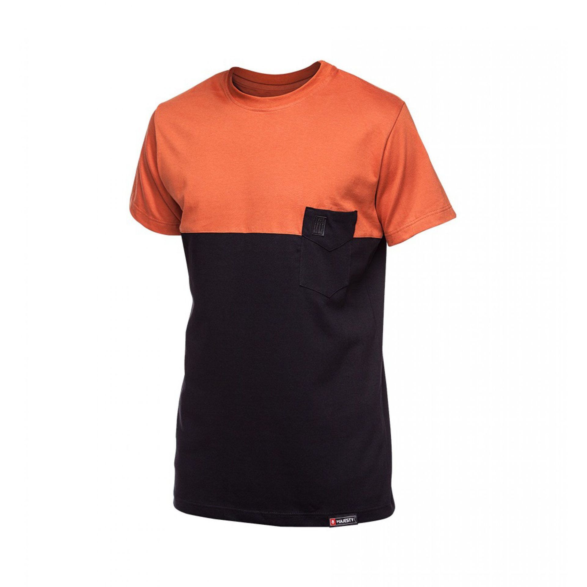 T-SHIRT MAJESTY DOPPLER RUST|BLACK