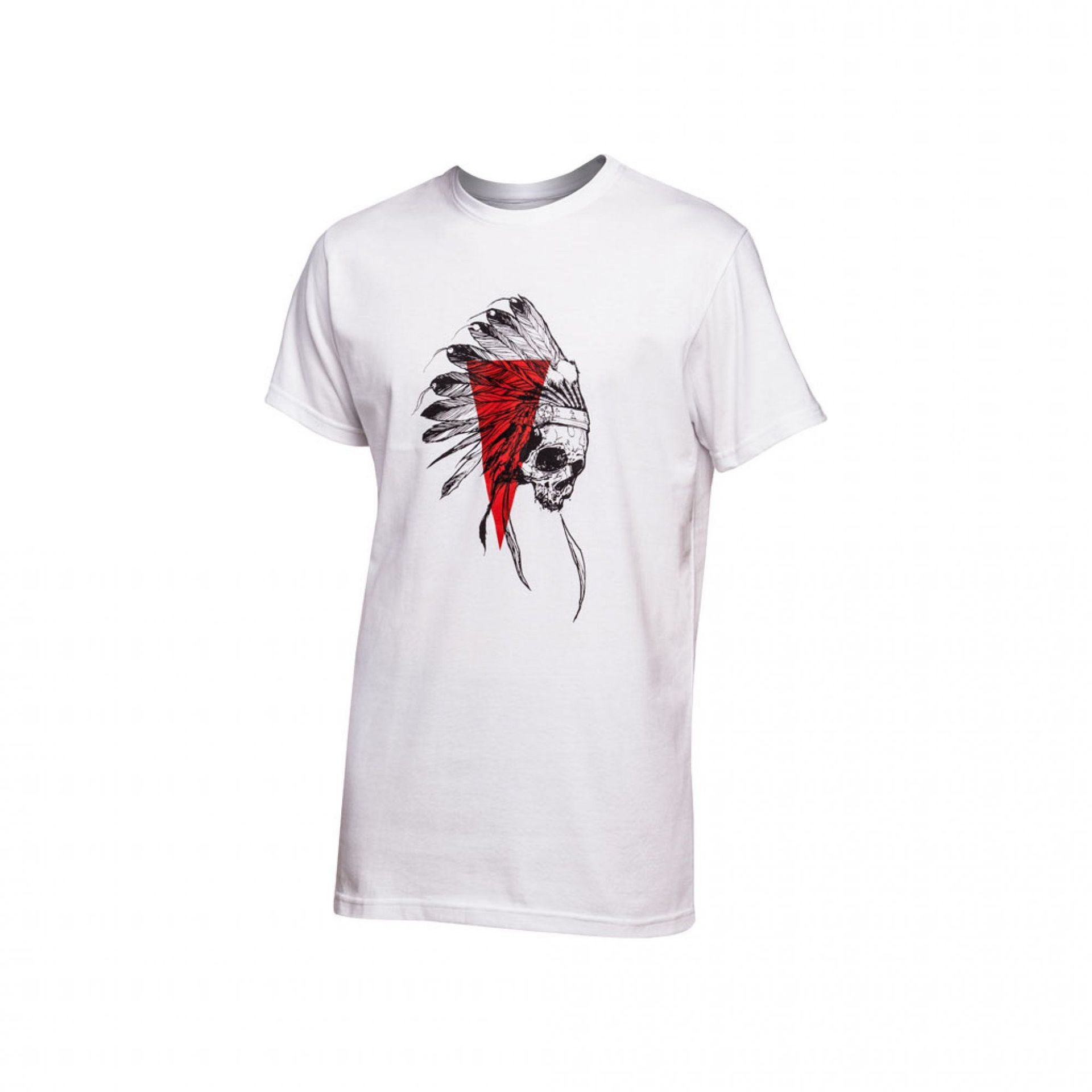T-SHIRT MAJESTY INDIAN WHITE