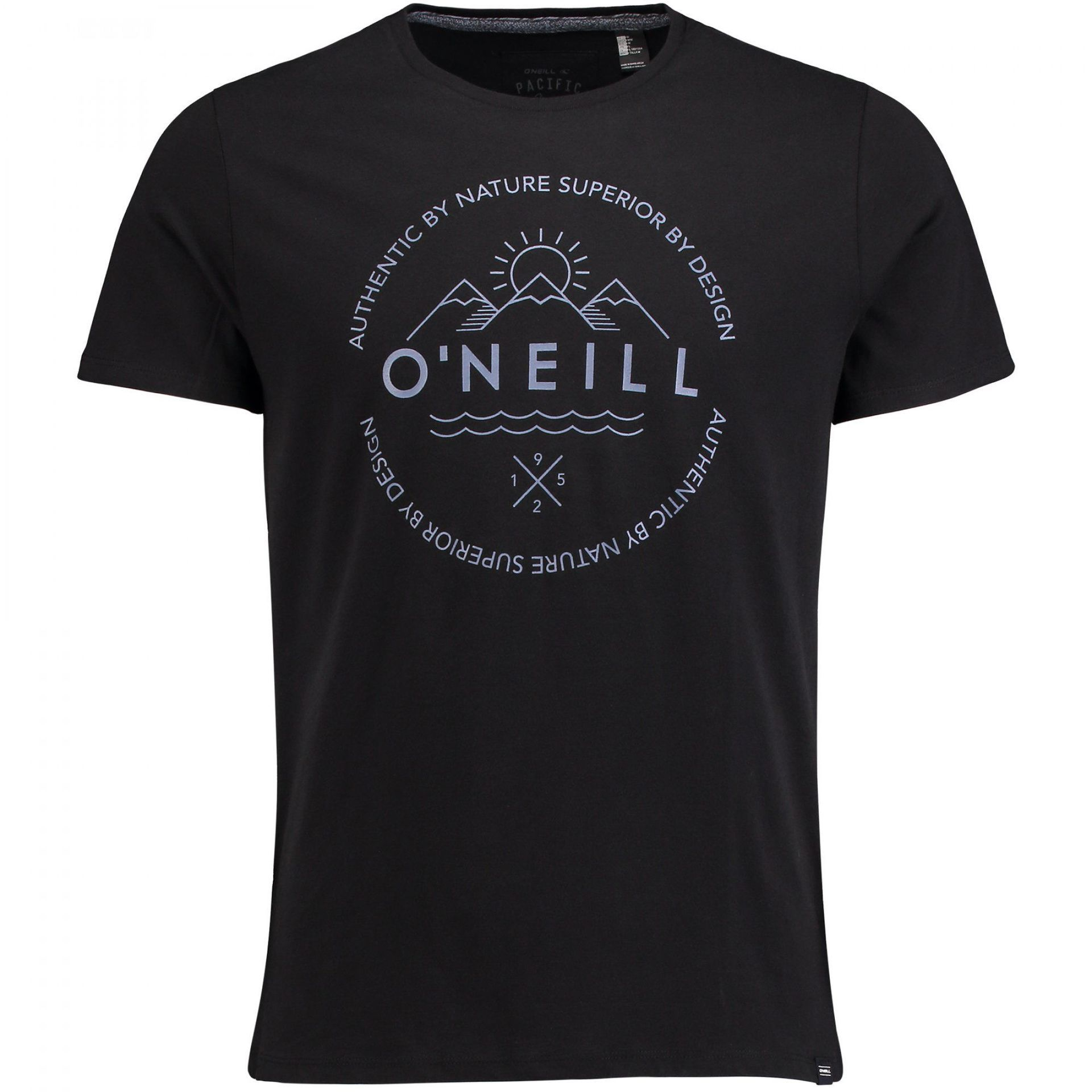 T-SHIRT ONEILL SCRIPTY BLACK OUT