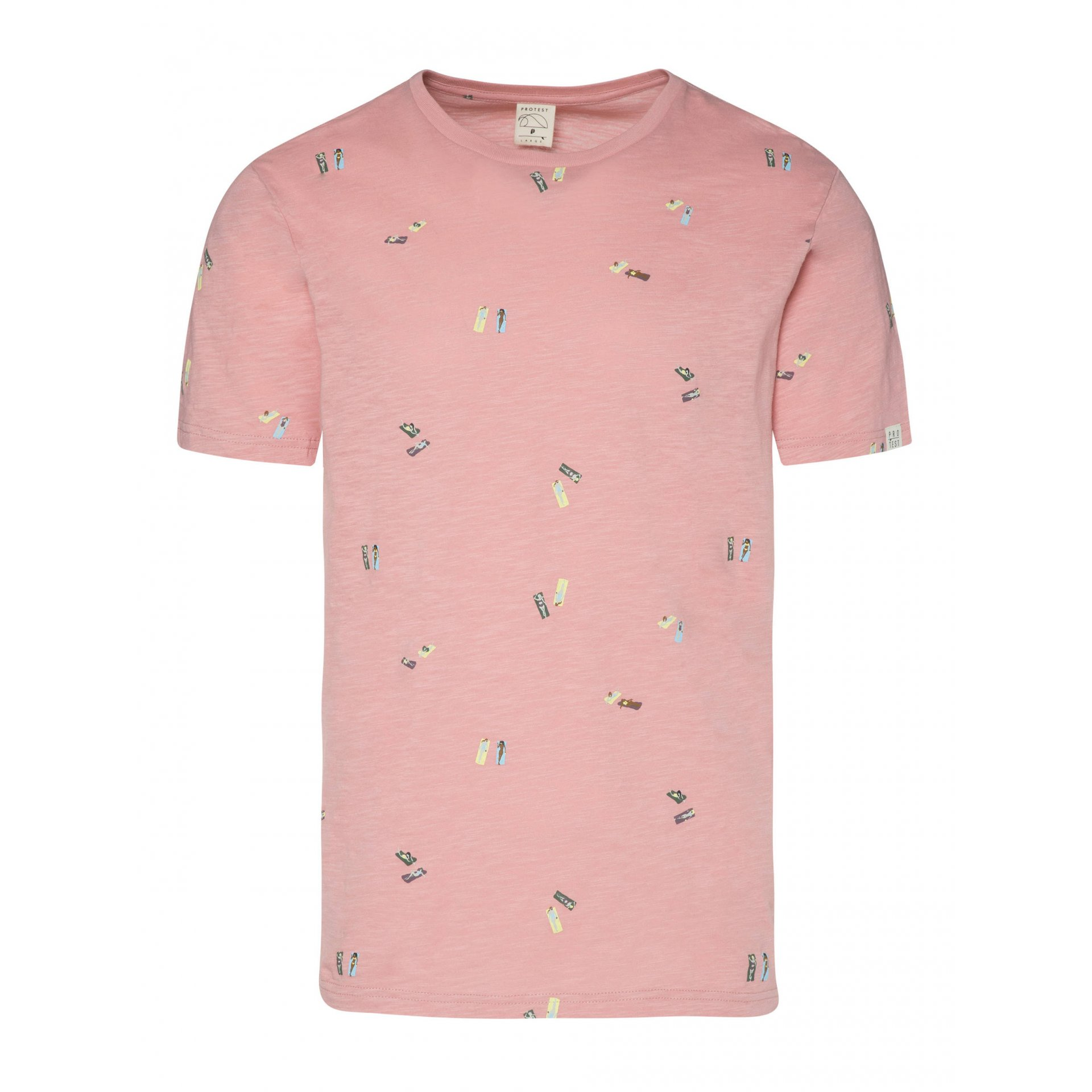 T-SHIRT PROTEST BELMONT 1711711 739 SILVER PINK