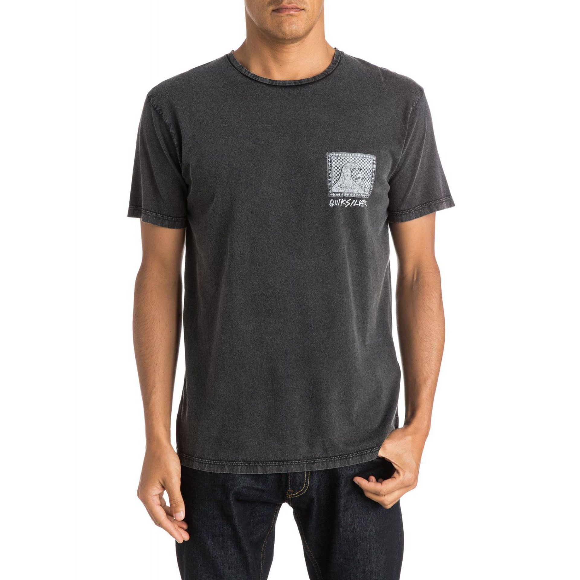 T-SHIRT QUIKSILVER CHECKERED PAST SS KVJ0