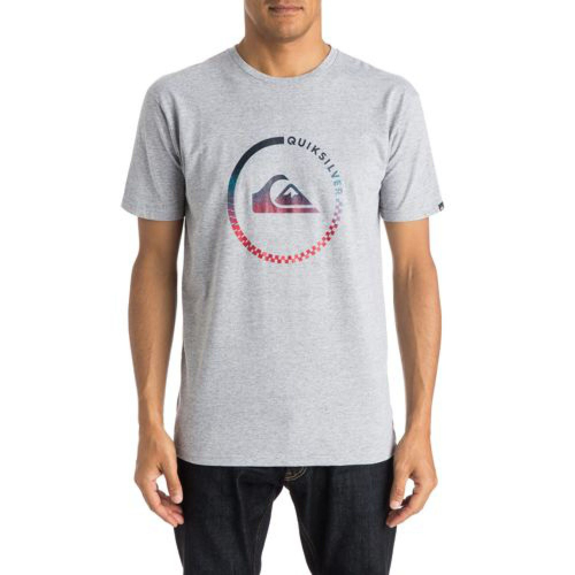 T-SHIRT QUIKSILVER CLASSIC TEE ACTIVE CHECK SGRH