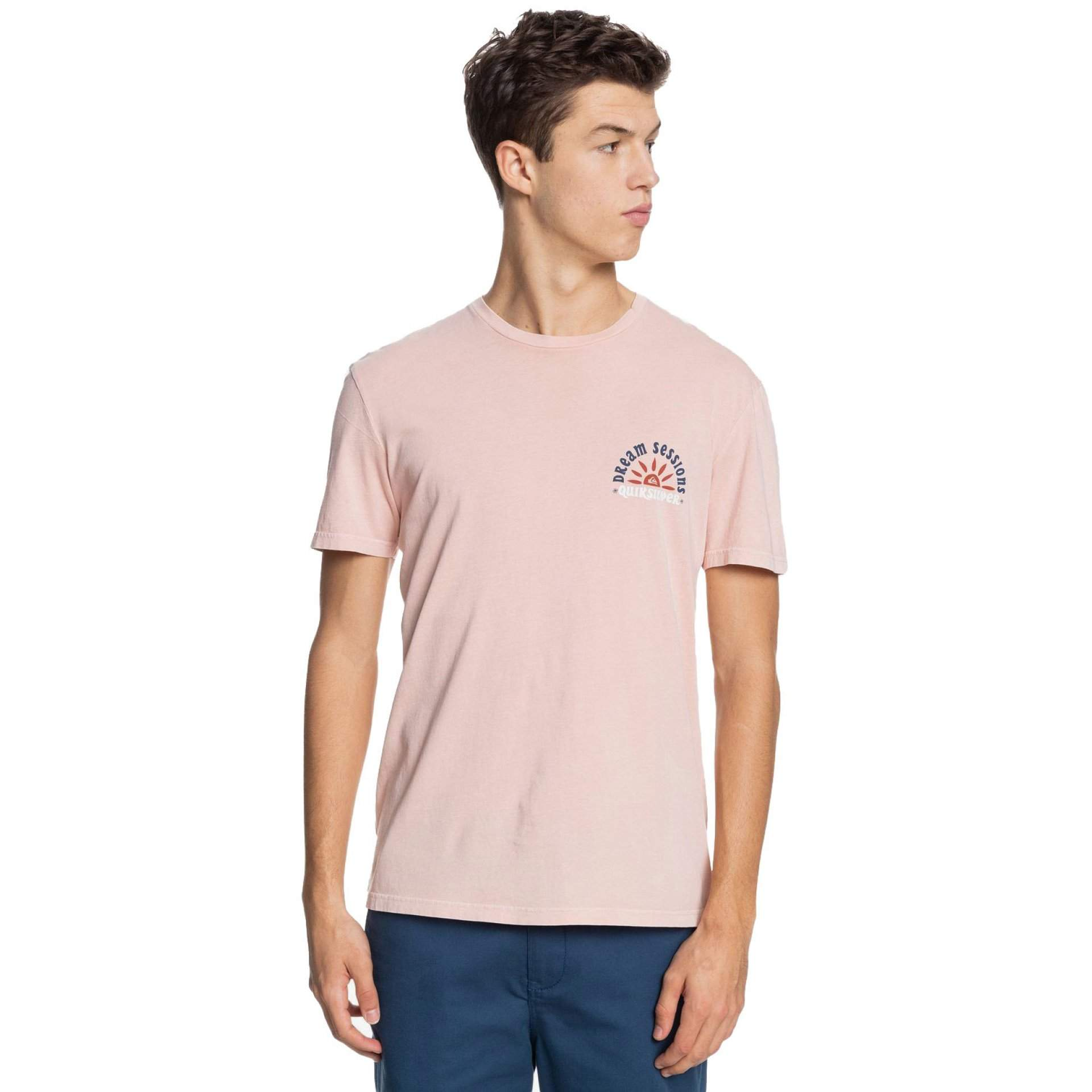 T-SHIRT QUIKSILVER DREAM SESSIONS EQYZT06364 MISTY ROSE MGY0