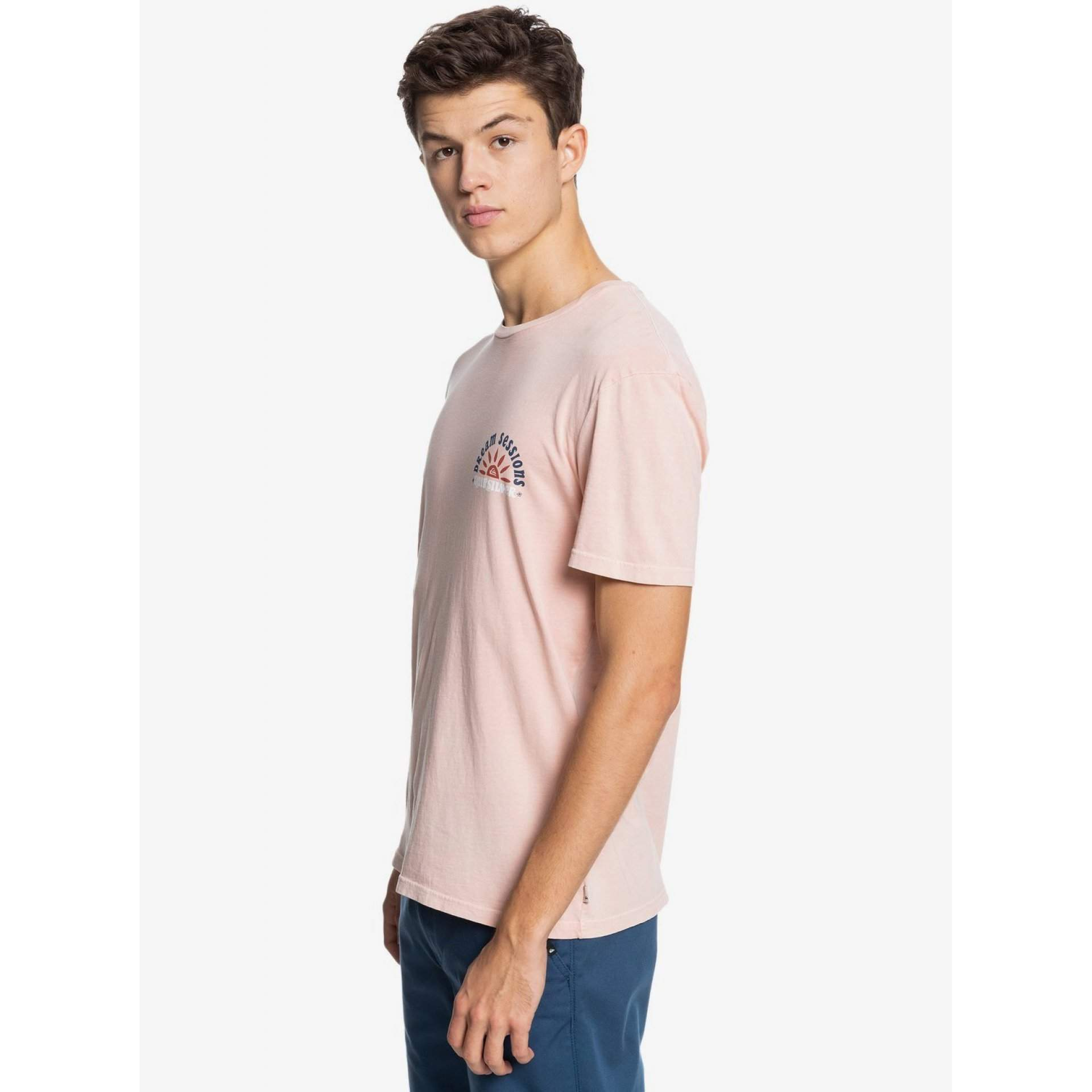 T-SHIRT QUIKSILVER DREAM SESSIONS EQYZT06364 MISTY ROSE MGY0 Z BOKU