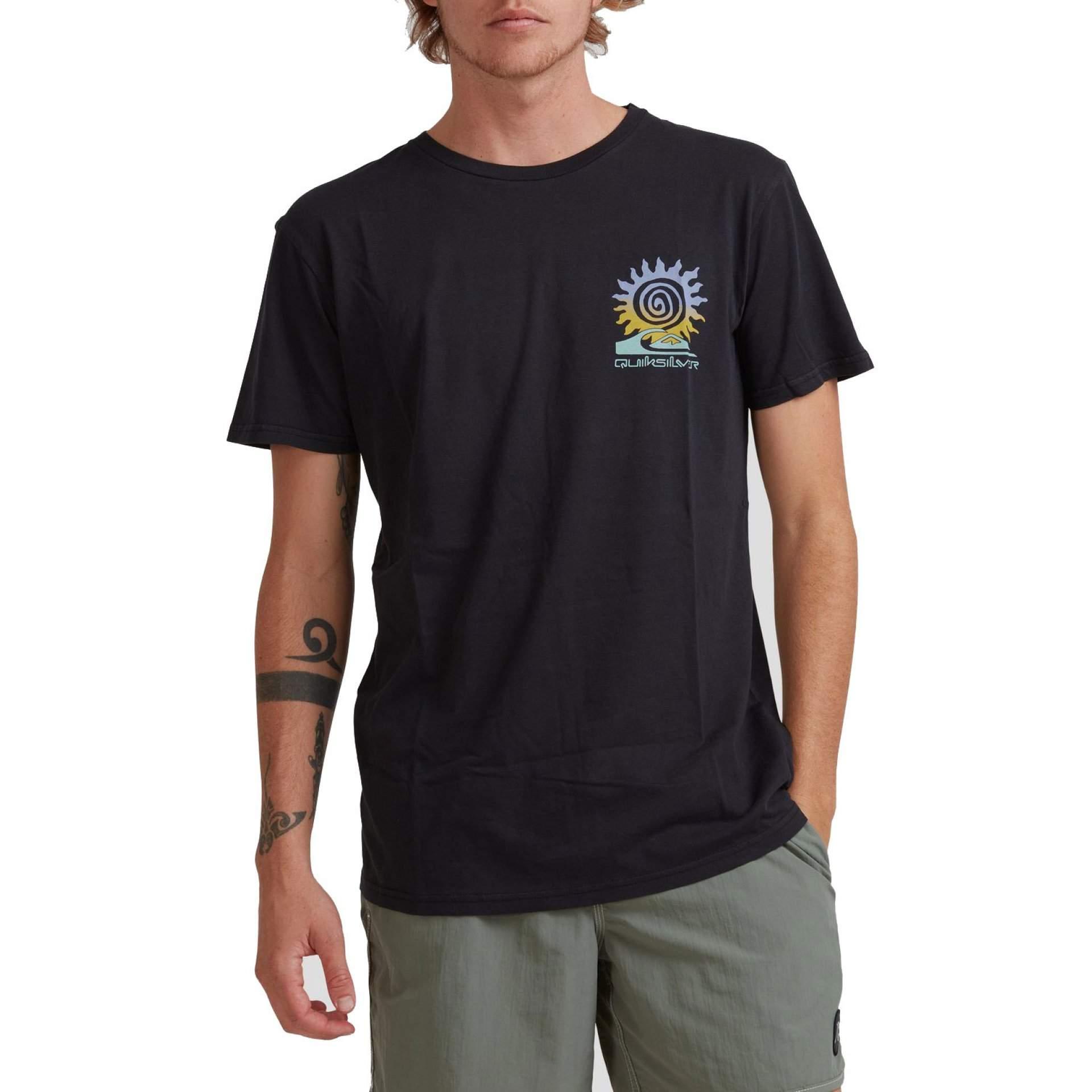 T-SHIRT QUIKSILVER ISLAND PULSE EQYZT06350|KVJ0 BLACK