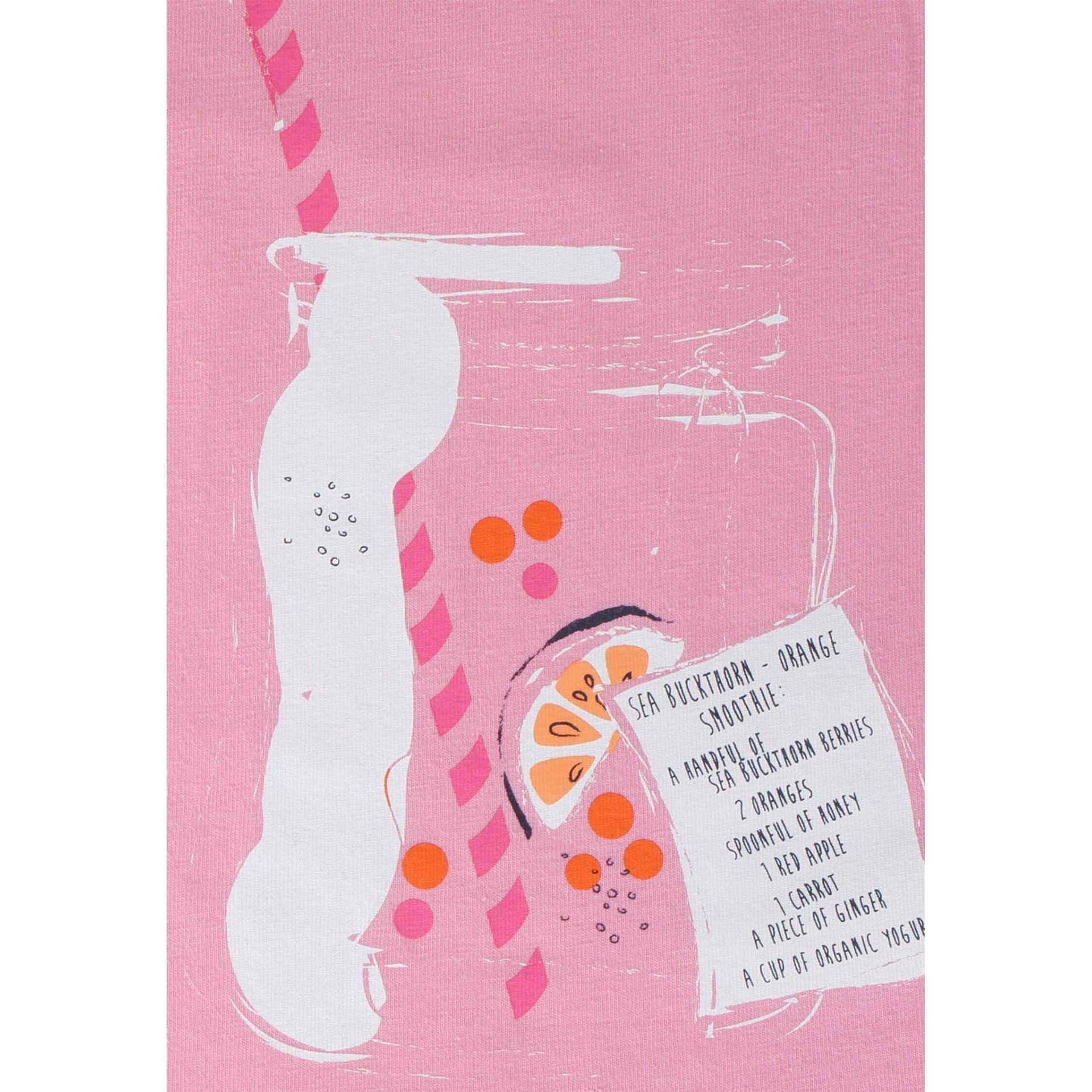 T-SHIRT REIMA WAVEFRONT 526388-4570 ROSE PINK GRAFIKA