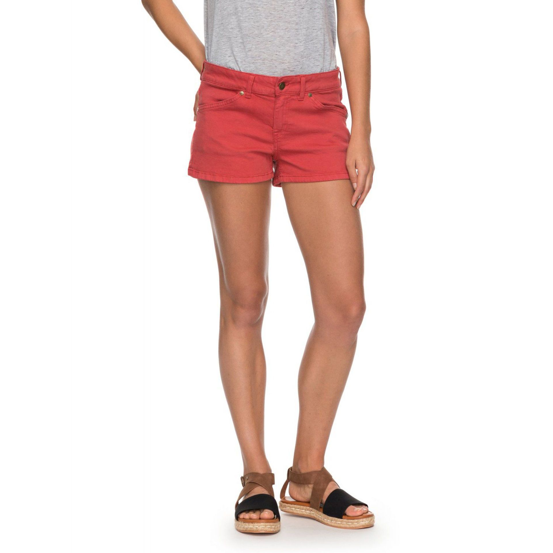 T-SHIRT ROXY SEATRIPPER DENIM SHORT TANDOORI SPICE