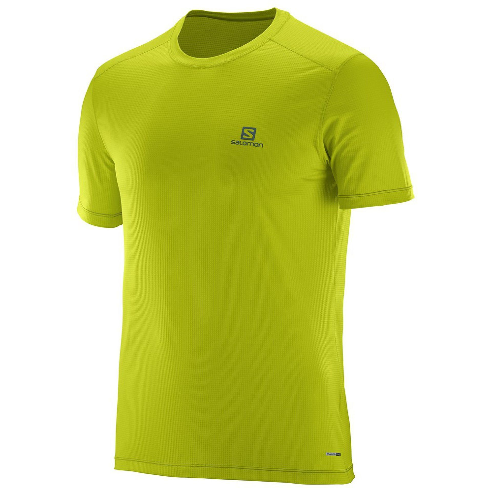 T-SHIRT SALOMON COSMIC LIME PUNCH