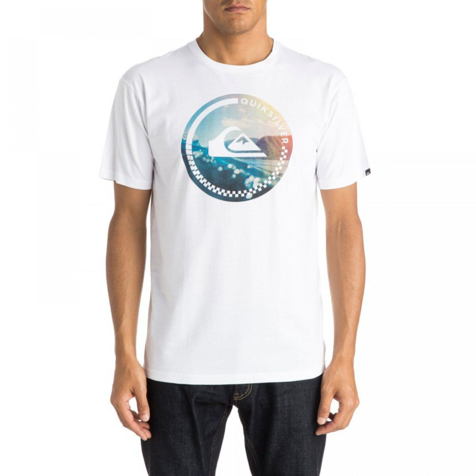 TSHIRT QUIKSILVER CLASSIC TEE MORE CORE WBB0