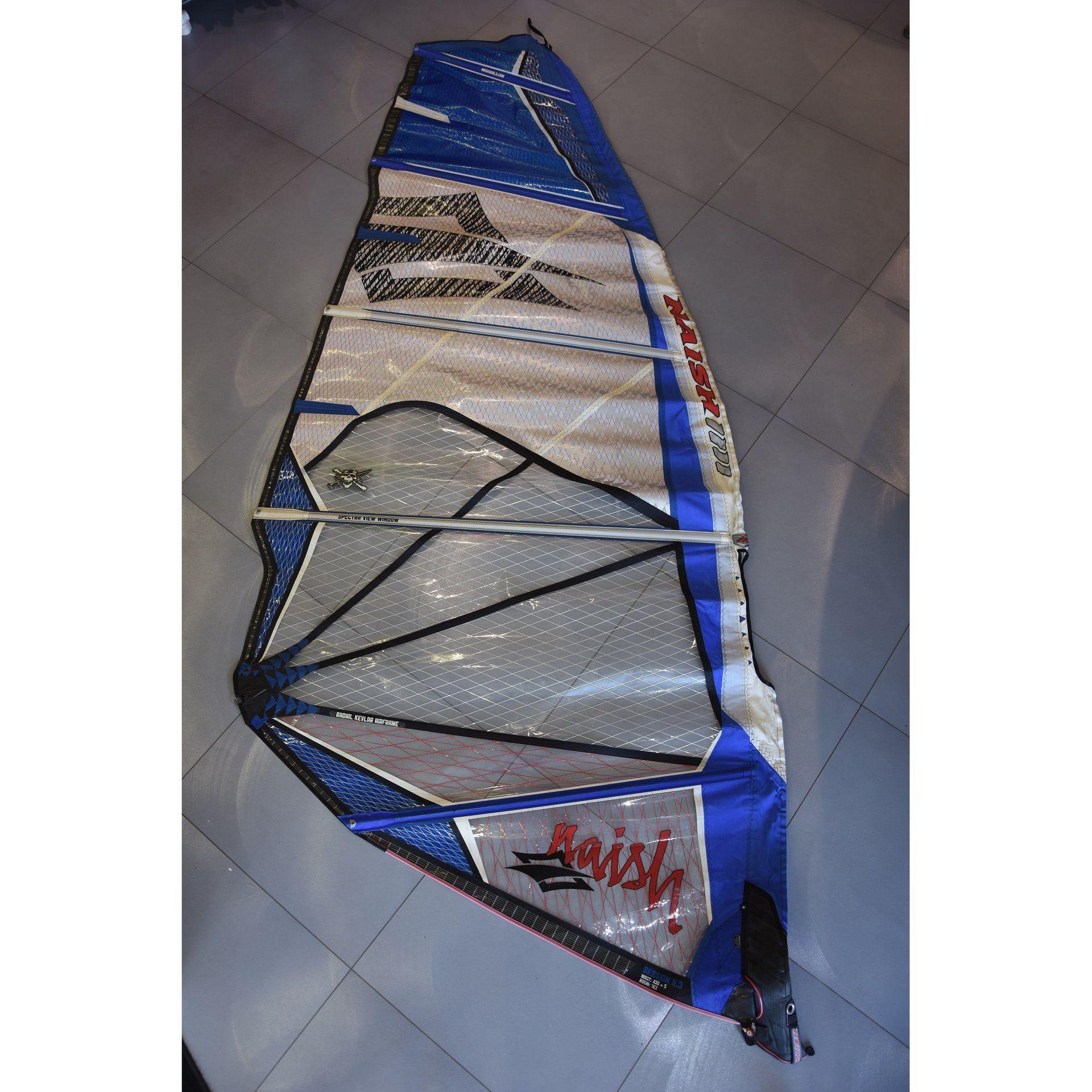 ŻAGIEL NAISH SESSION 2012 5.3 - WAVE  (531221)