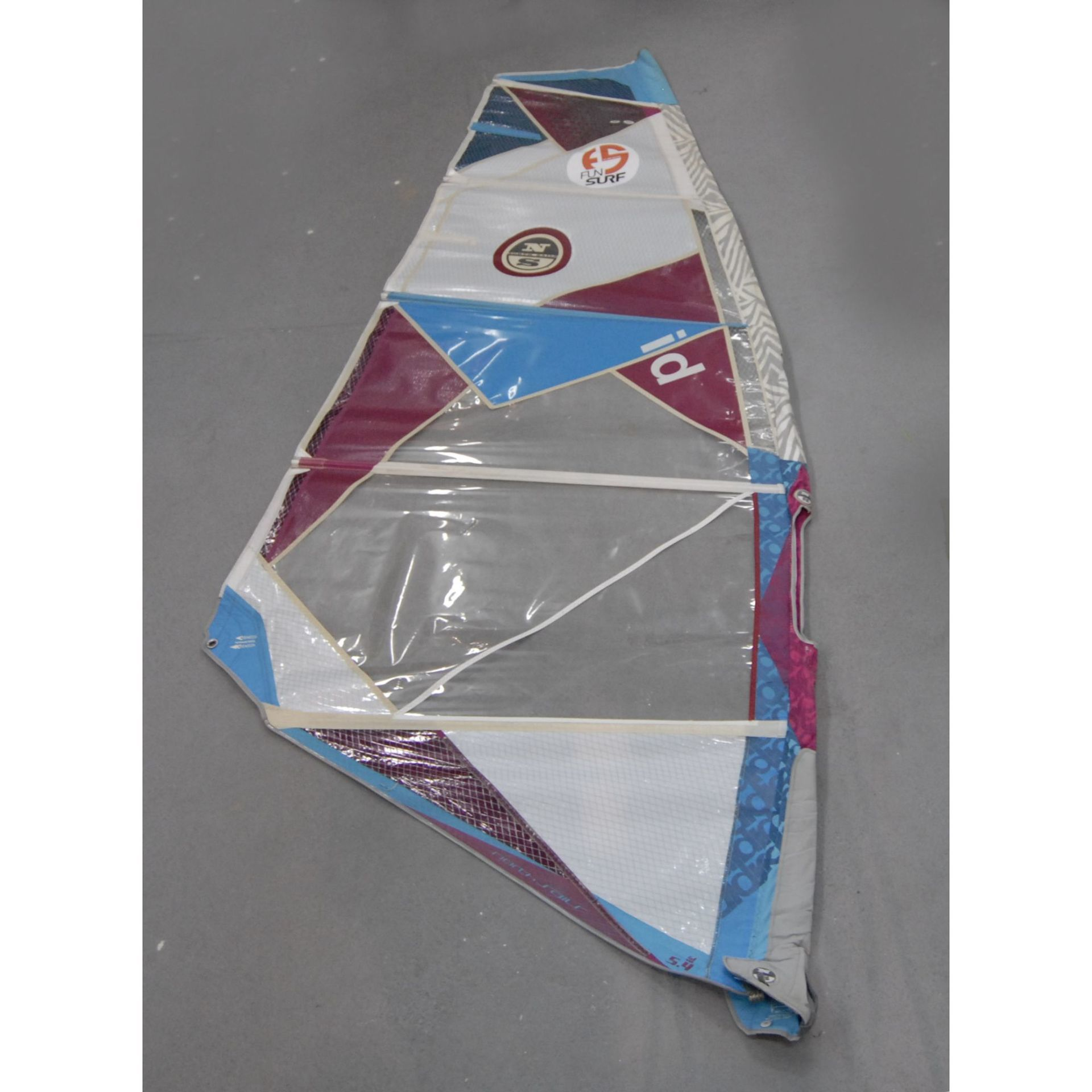 ŻAGIEL WINDSURFINGOWY NORTH SAILS  ID 5.4 - FREERACE  (155419)