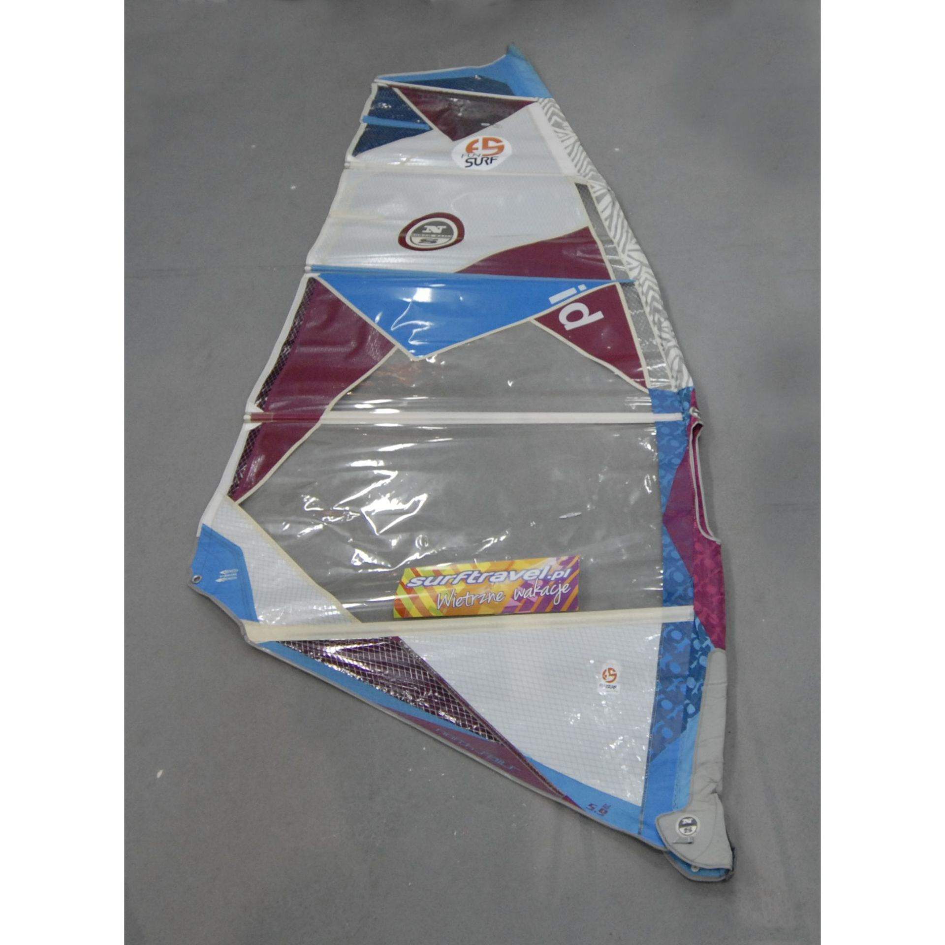 ŻAGIEL WINDSURFINGOWY NORTH SAILS  ID 5.9 - FREERACE  (155917)