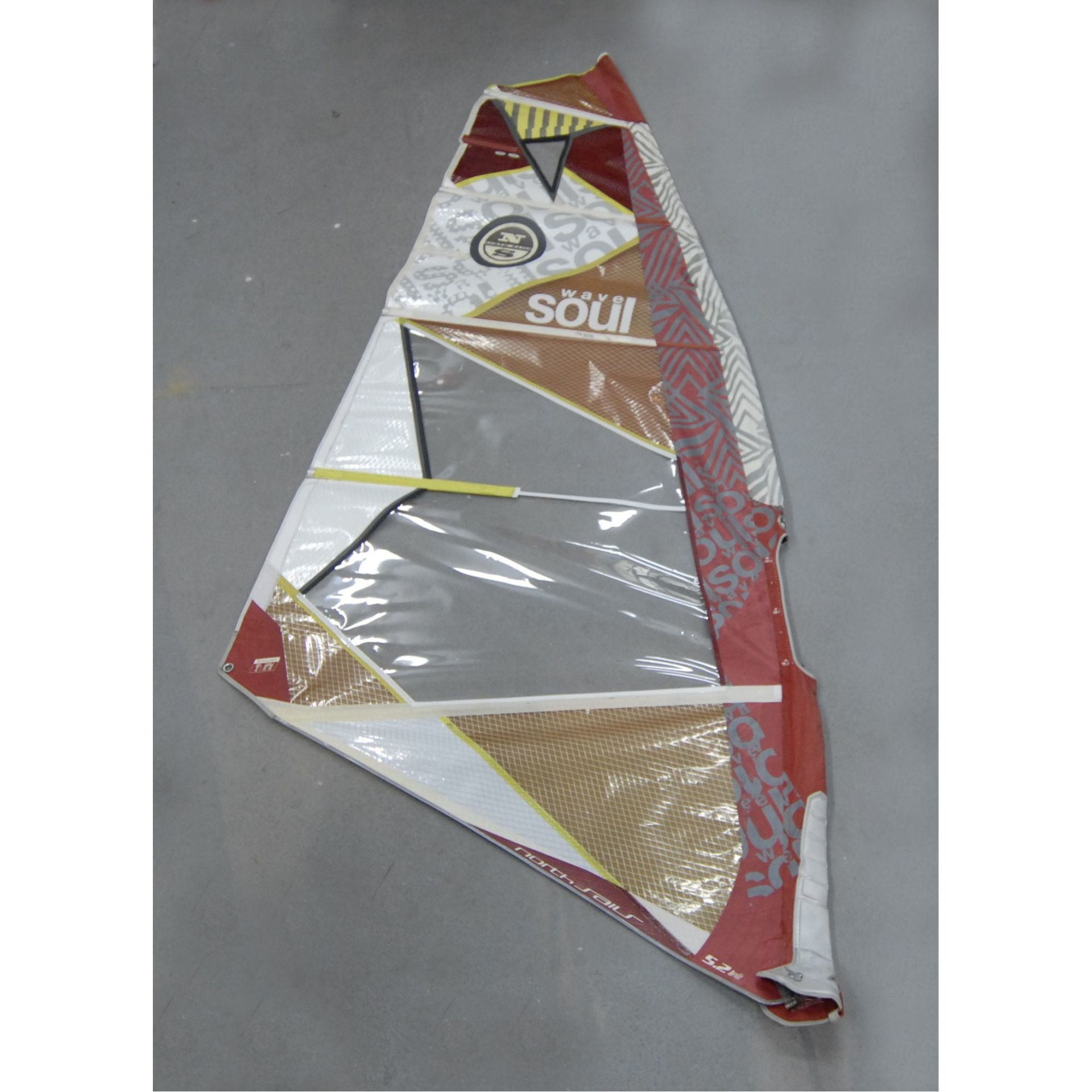 ŻAGIEL WINDSURFINGOWY NORTH SAILS SOUL 5.2 - WAVE|FREESTYLE  (155216)