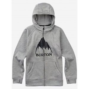 BLUZA BURTON OAK FULL-ZIP 2017 SZARY