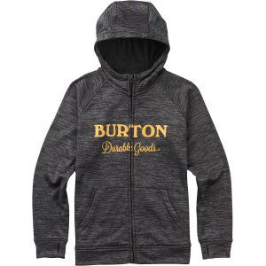 BLUZA BURTON  OAK FULL-ZIP TRUE BLACK HEATHER  2017 SZARY