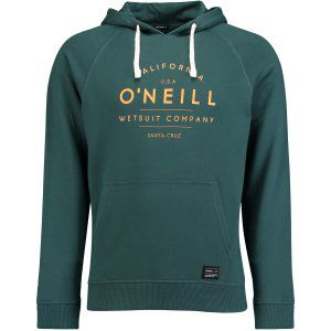 BLUZA ONEILL  LM JACK'S BASE GRAPHIC HOODIE  2017 ZIELONY