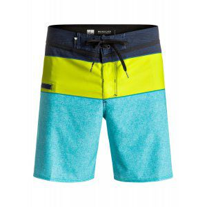 BOARDSHORTY QUIKSILVER EVERYDAY BLOCKED VEE 17 2017 GRANATOWY|ZIELONY