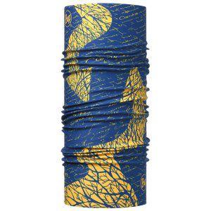 CHUSTA BUFF  HIGH UV PROTECTION CAMINO DE SANTIAGO SIGNAL ROYAL BLUE NIEBIESKI ŻÓŁTY